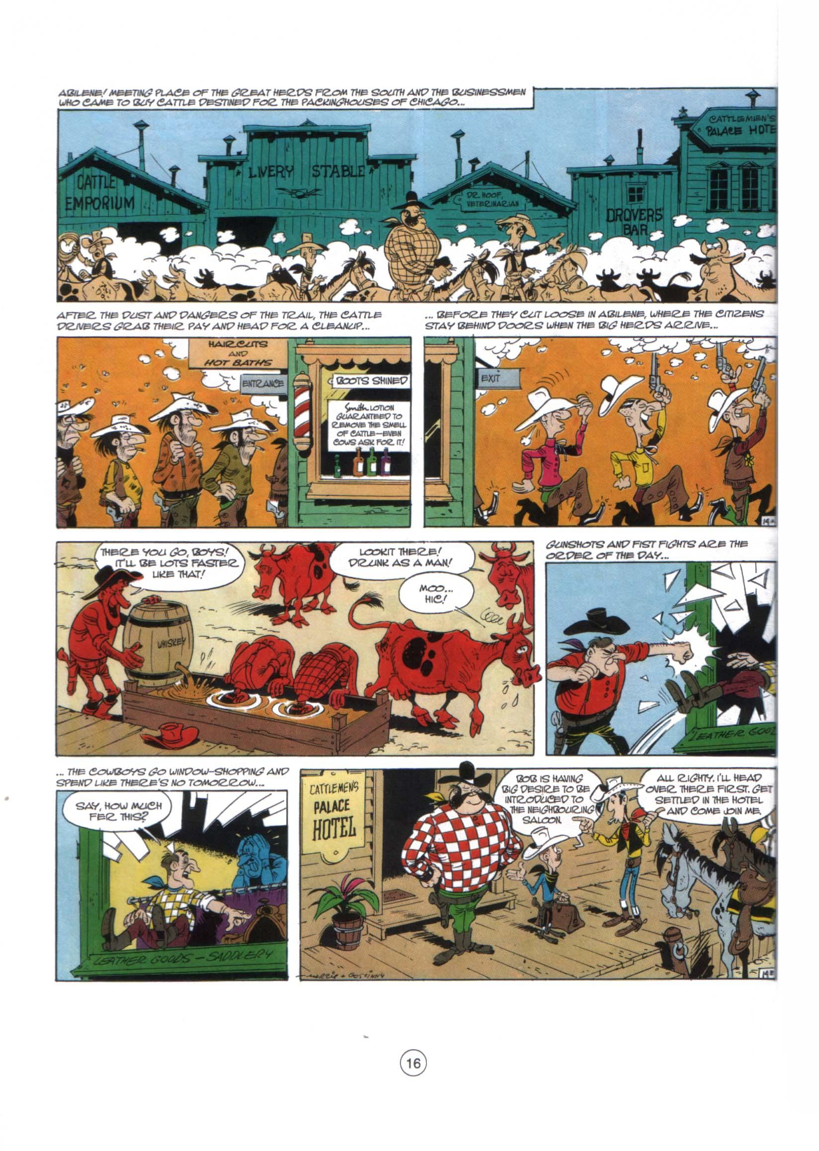 Read online A Lucky Luke Adventure comic -  Issue #29 - 15