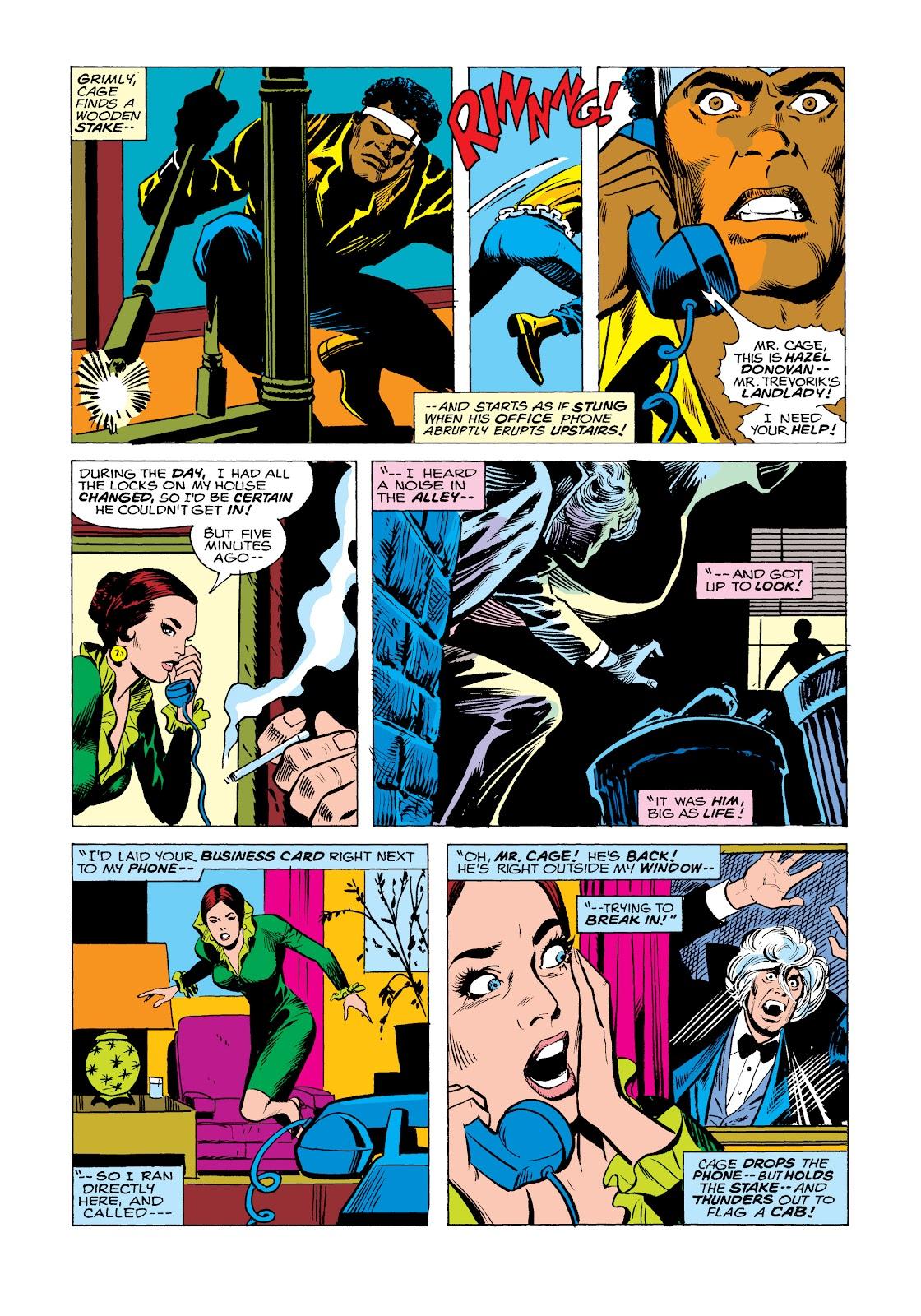 Read online Marvel Masterworks: Luke Cage, Power Man comic -  Issue # TPB 2 (Part 2) - 95