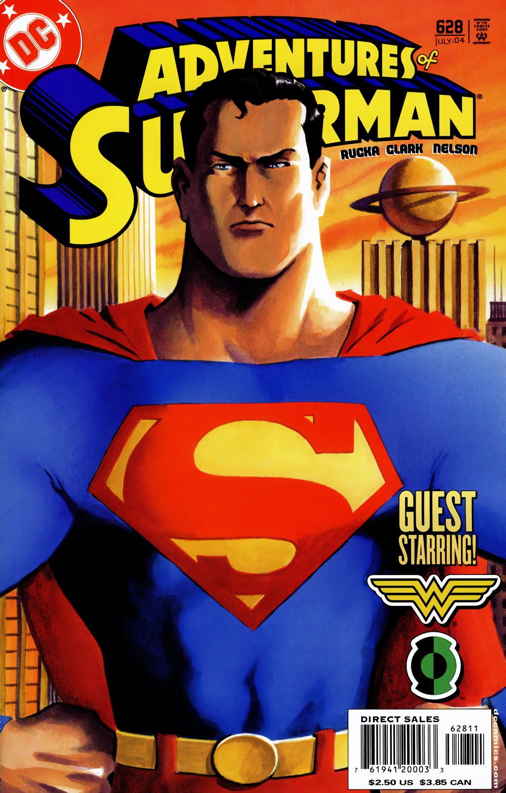 Read online Adventures of Superman (1987) comic -  Issue #628 - 1