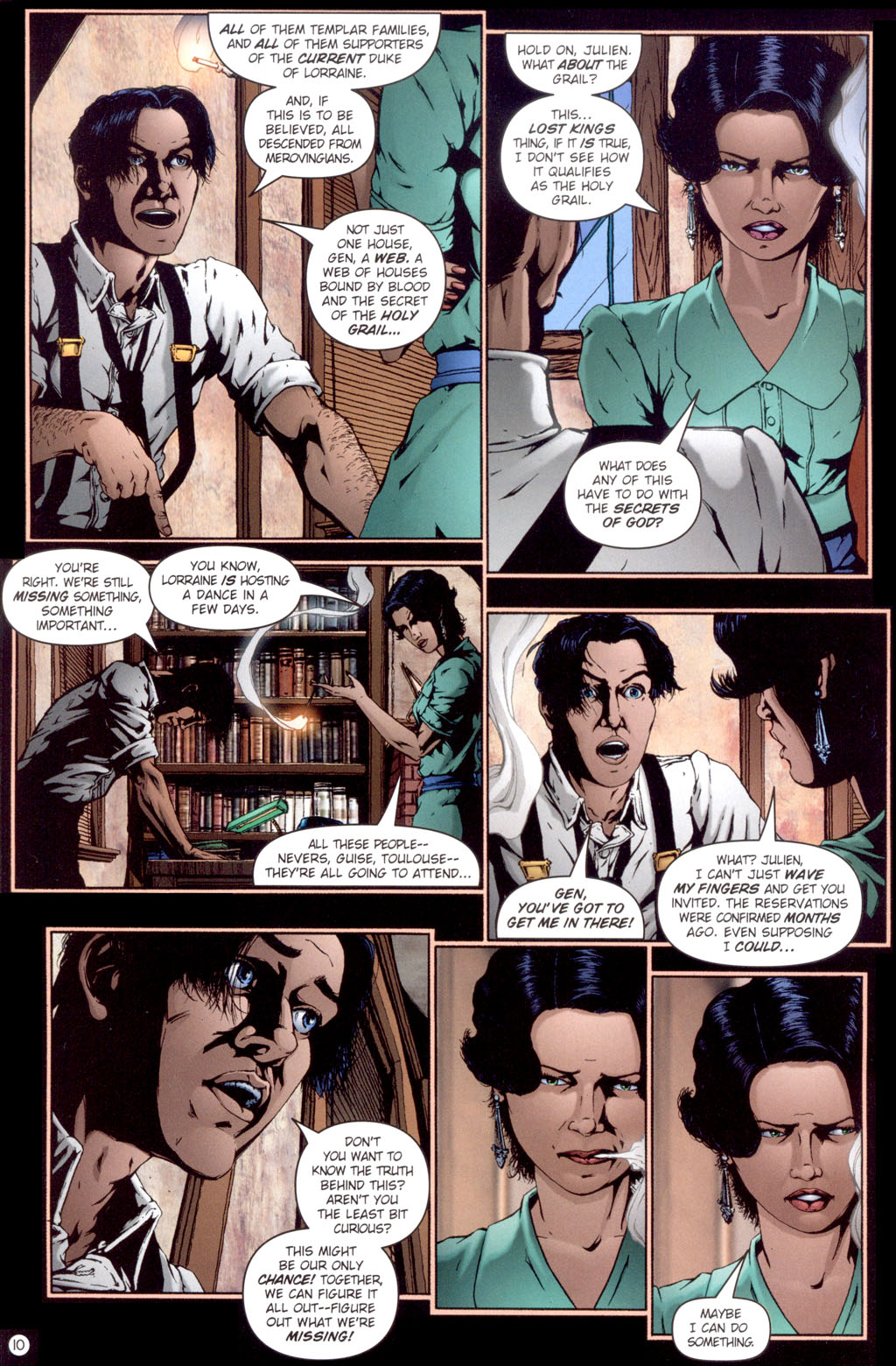 Read online Rex Mundi comic -  Issue #13 - 12