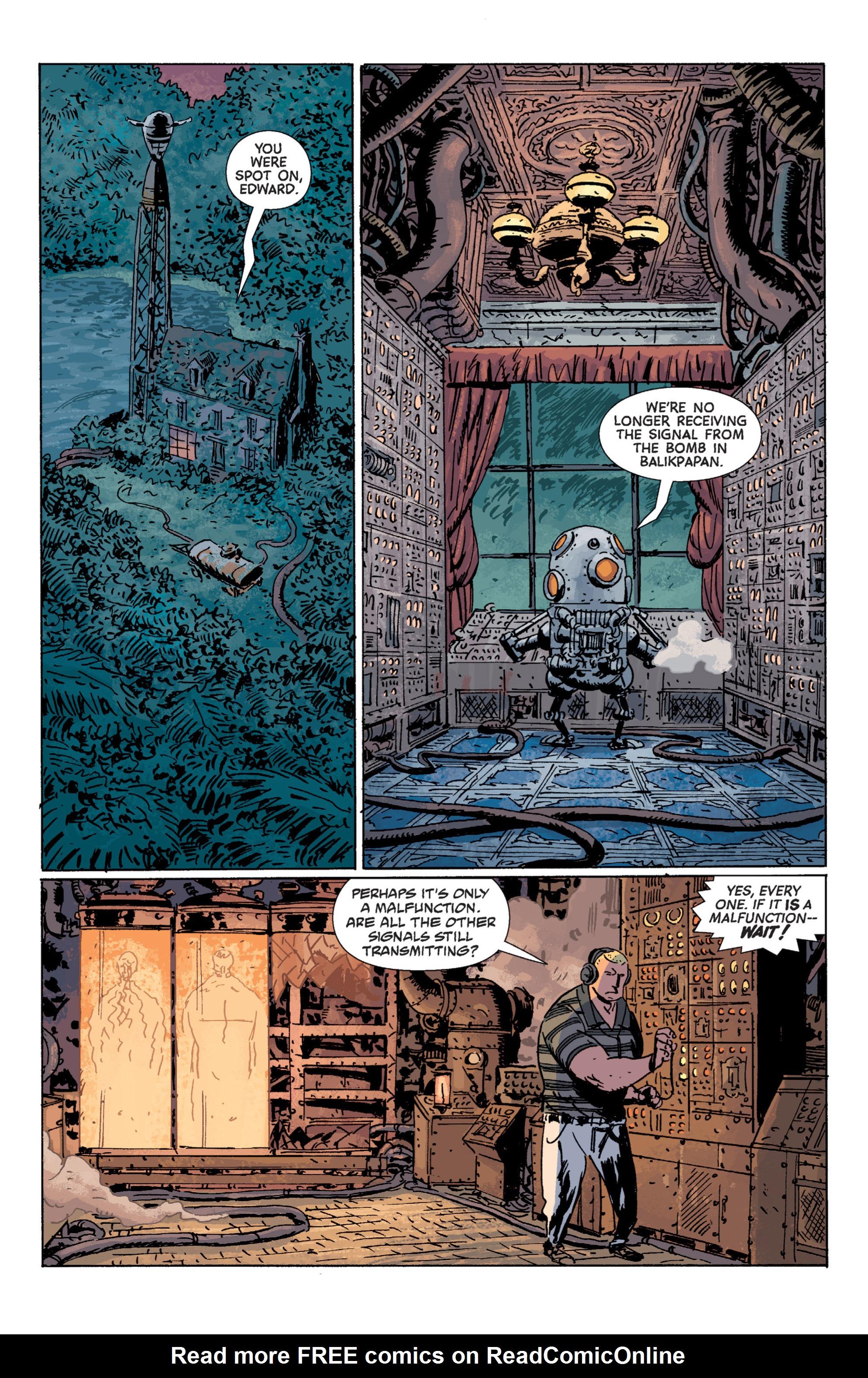 Read online B.P.R.D. (2003) comic -  Issue # TPB 7 - 117