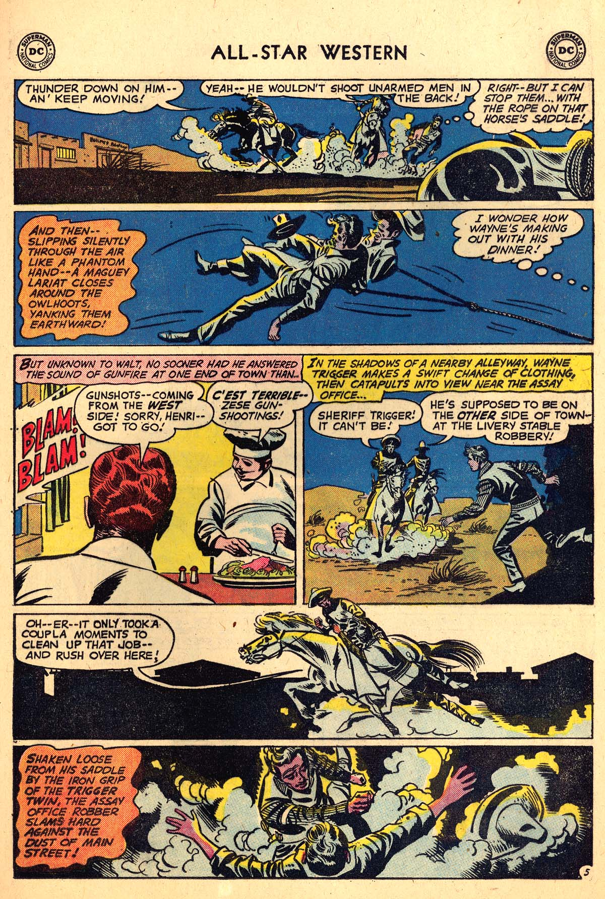 Read online All-Star Western (1951) comic -  Issue #110 - 29