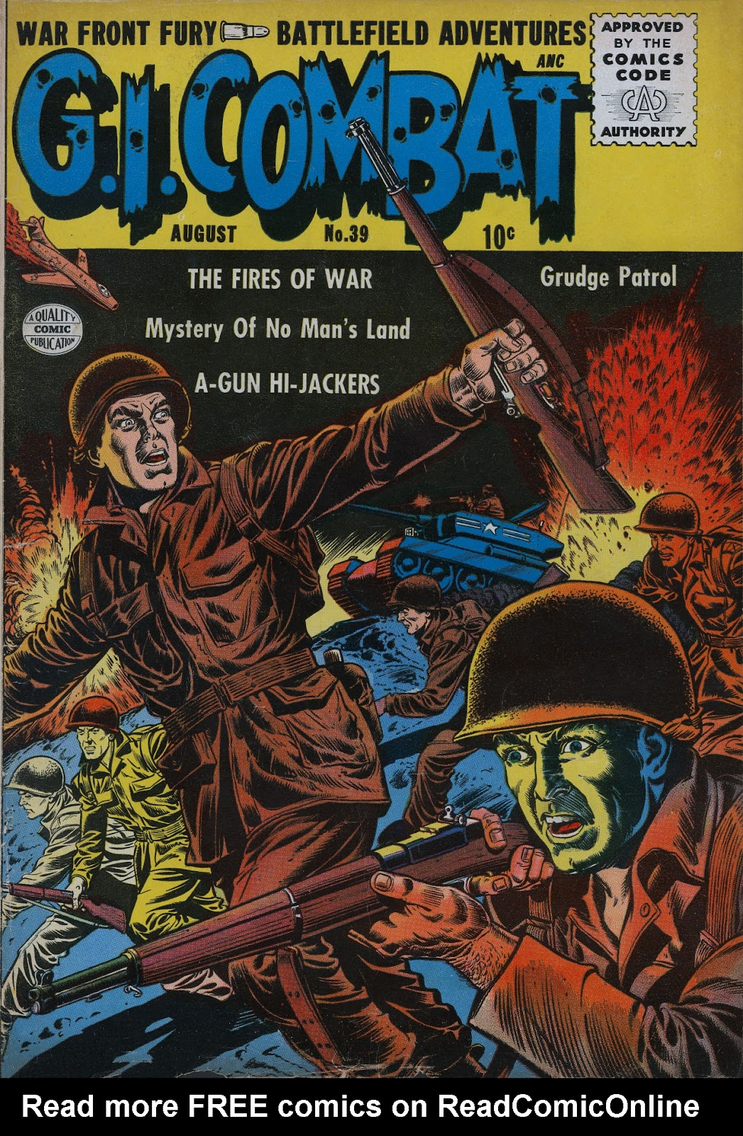 G.I. Combat (1952) issue 39 - Page 1