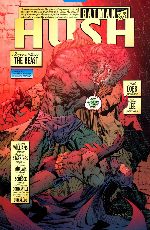 Read online Batman: Hush comic -  Issue #3 - 5