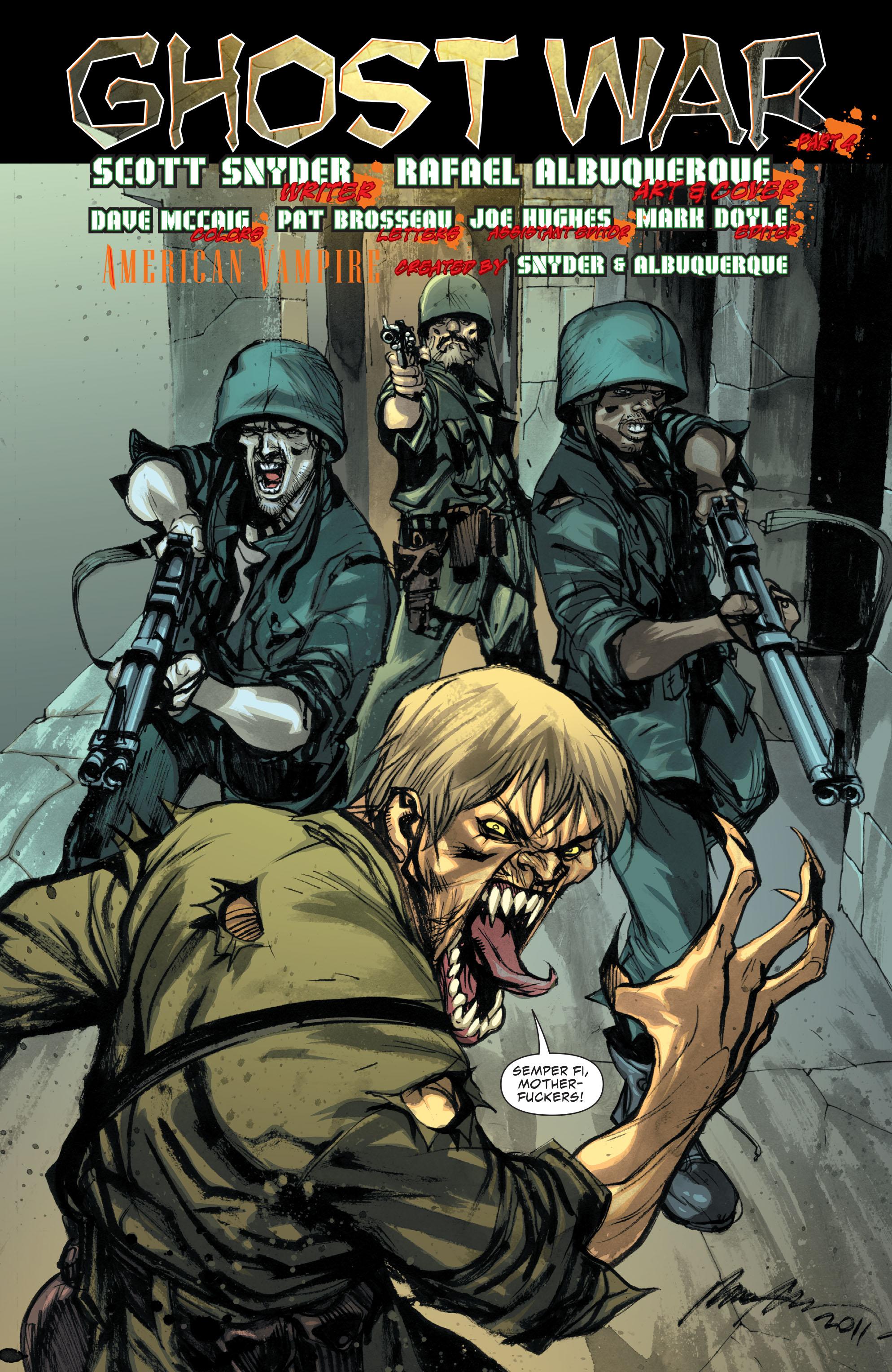 Read online American Vampire comic -  Issue #16 - 20