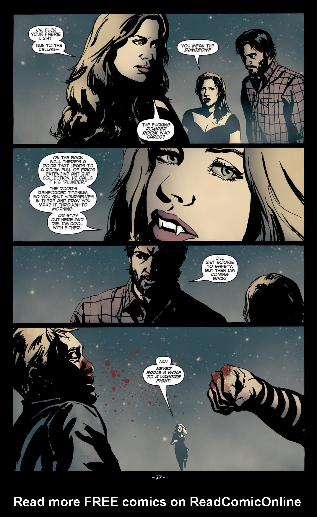 Read online True Blood (2012) comic -  Issue #4 - 19