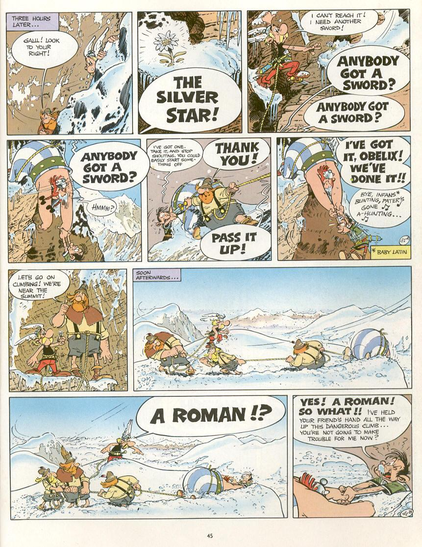 Read online Asterix comic -  Issue #16 - 42
