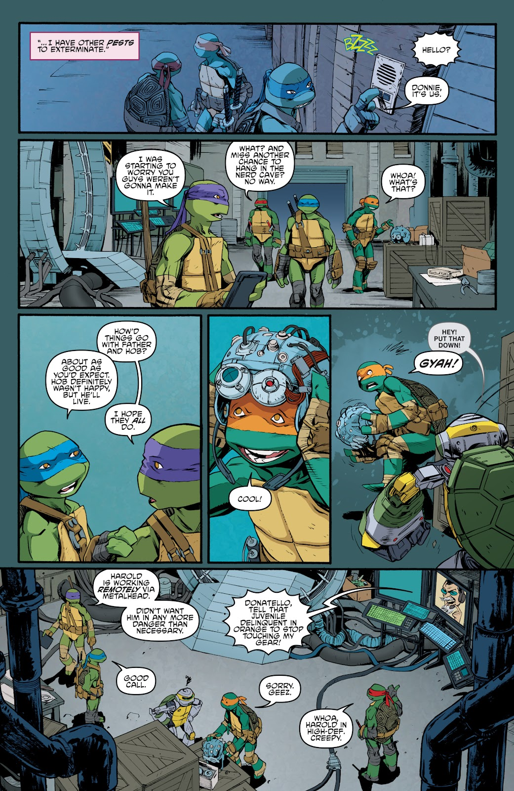 Read online Teenage Mutant Ninja Turtles: The IDW Collection comic -  Issue # TPB 5 (Part 3) - 94