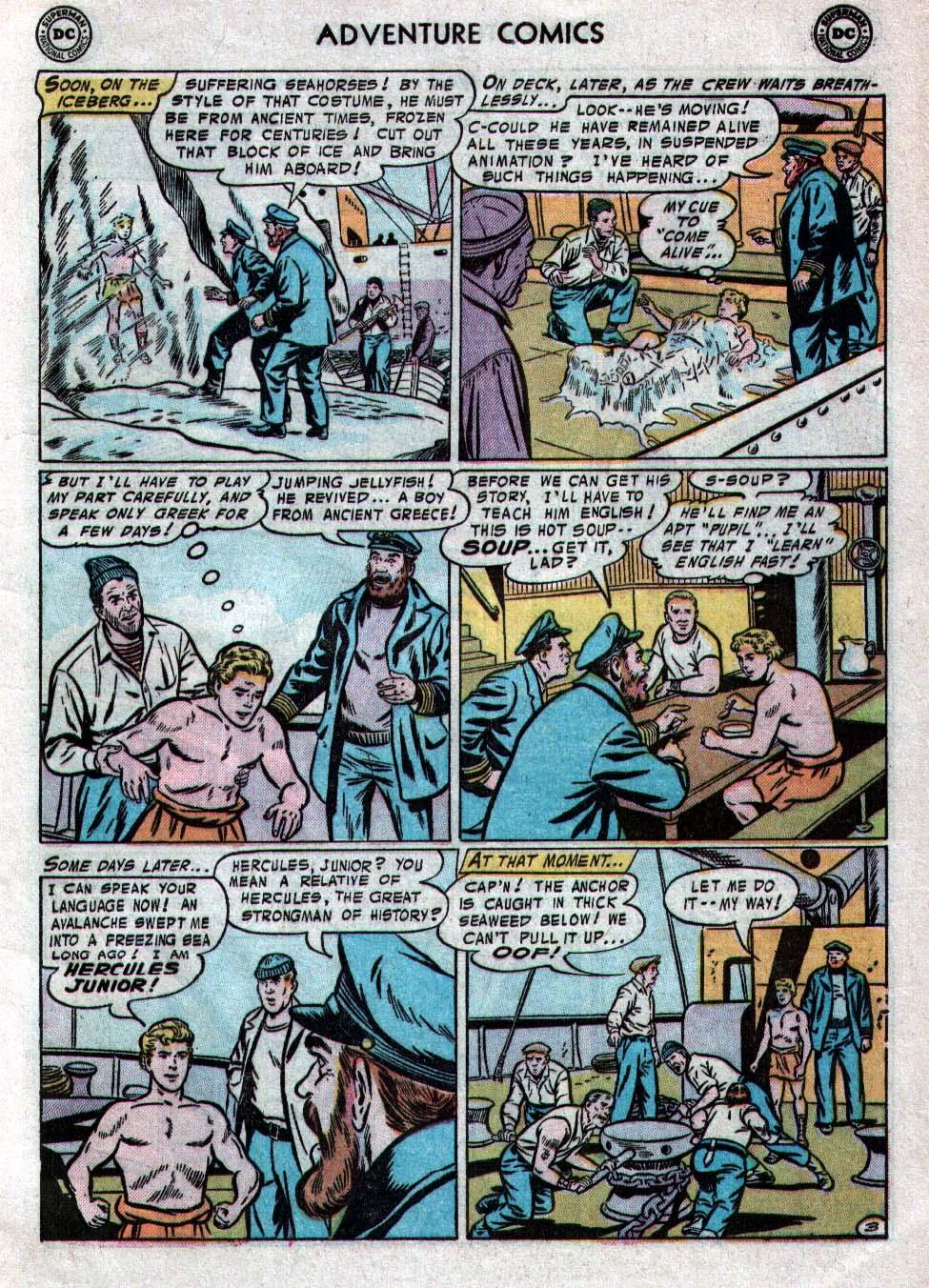 Read online Adventure Comics (1938) comic -  Issue #223 - 5