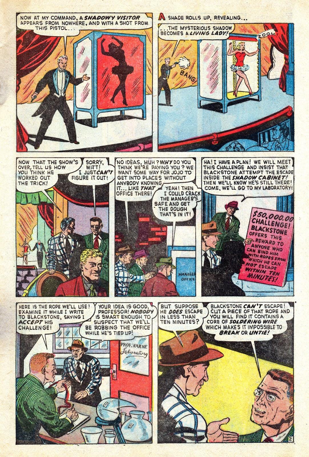 Read online Blackstone the Magician comic -  Issue #4 - 27