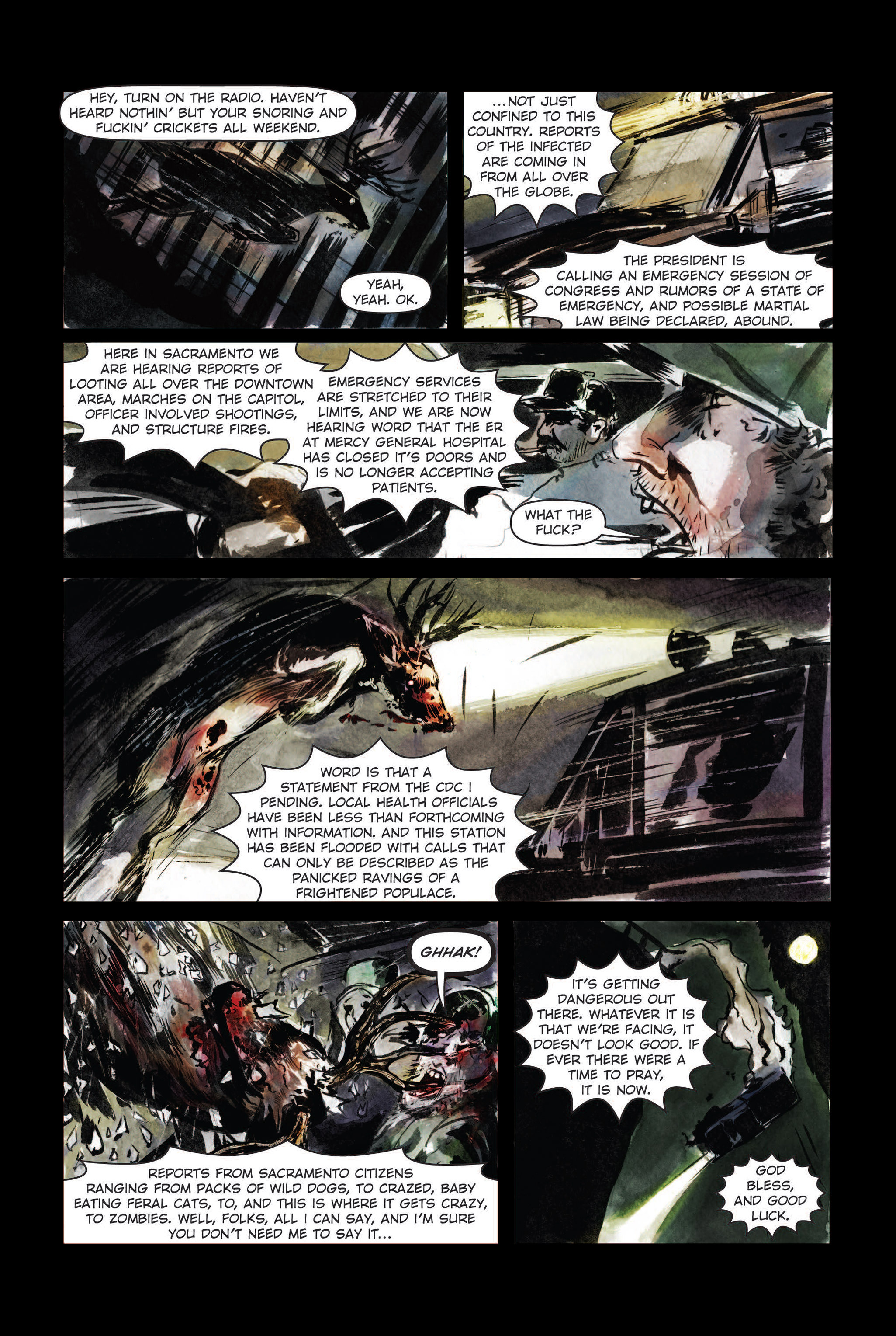 Read online The Final Plague comic -  Issue #3 - 22