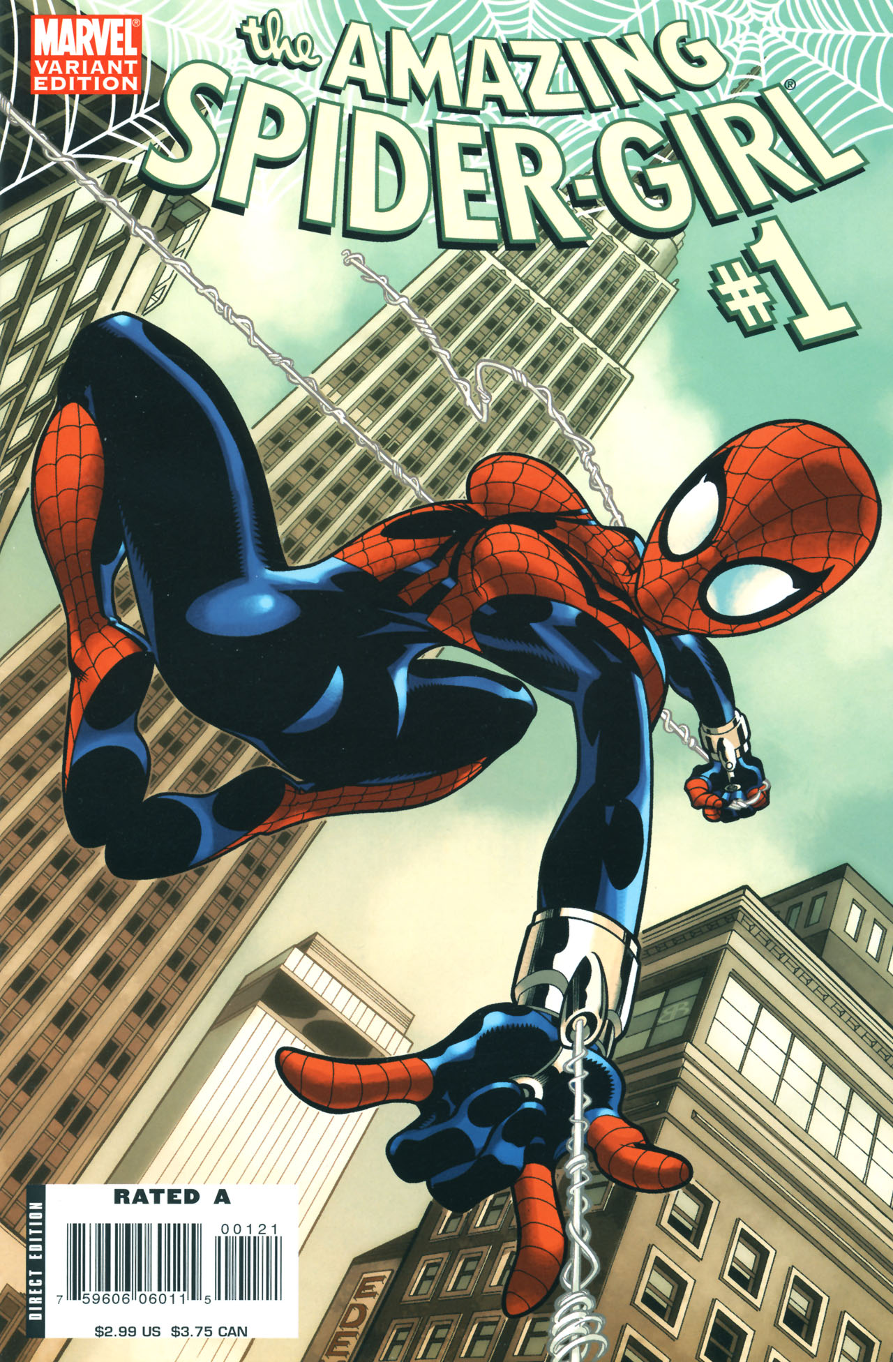 Read online Amazing Spider-Girl comic -  Issue #1 - 2