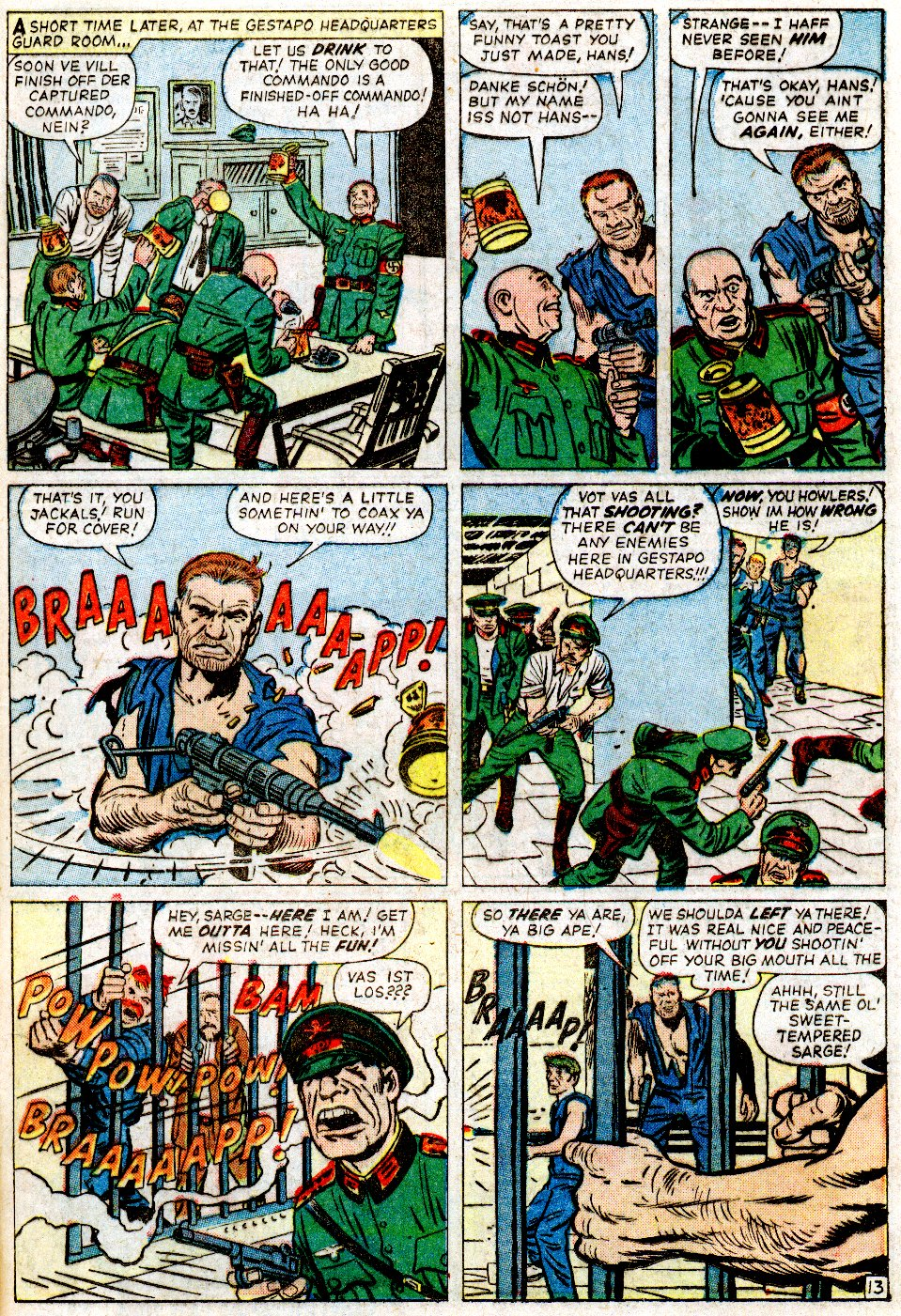 Read online Sgt. Fury comic -  Issue #2 - 17