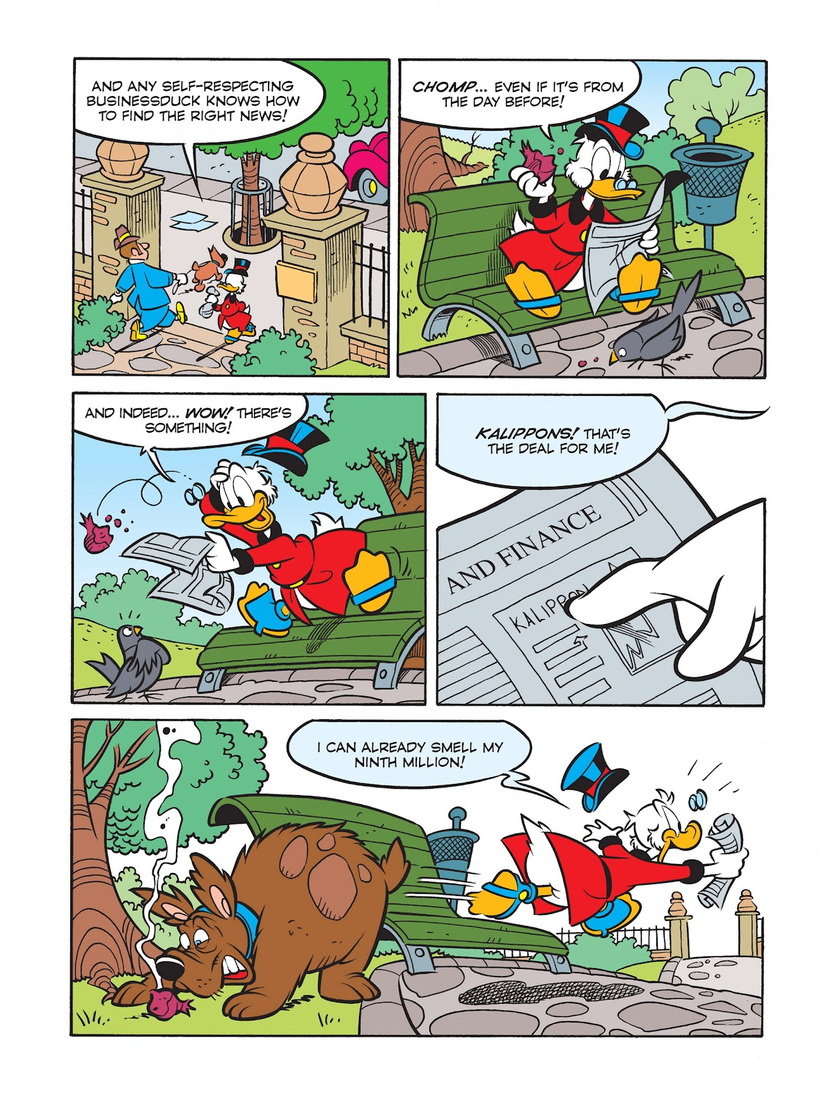 All of Scrooge McDuck's Millions Issue #9 #9 - English 8