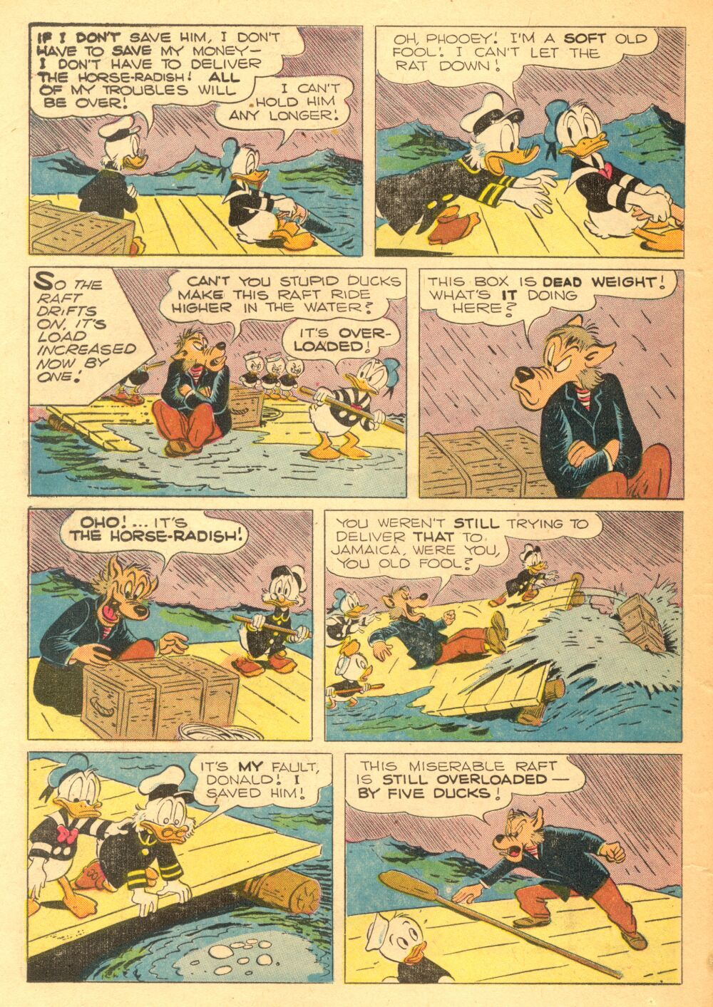 Read online Uncle Scrooge (1953) comic -  Issue #3 - 22