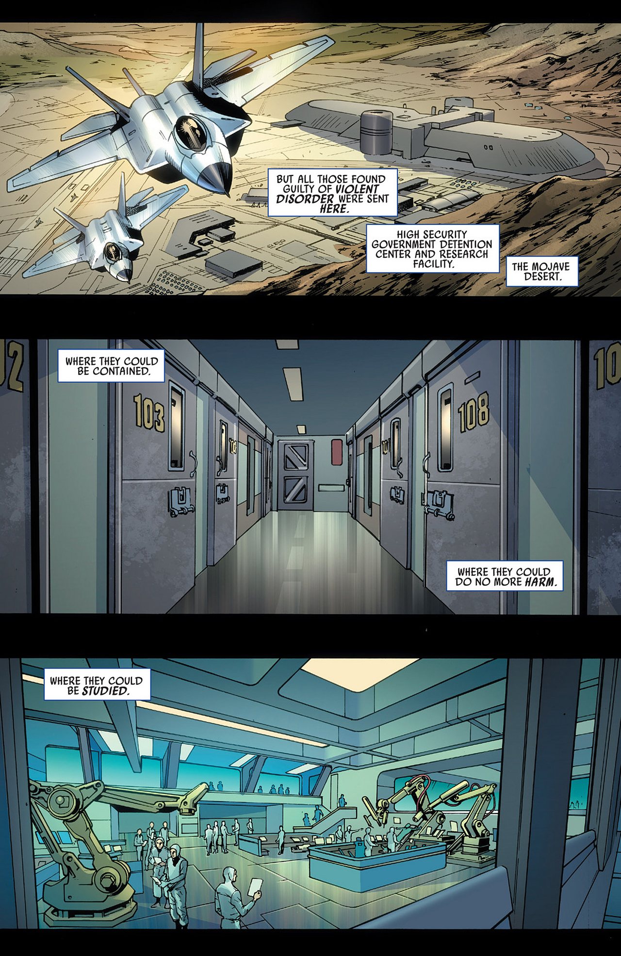 Read online America's Got Powers comic -  Issue #3 - 5