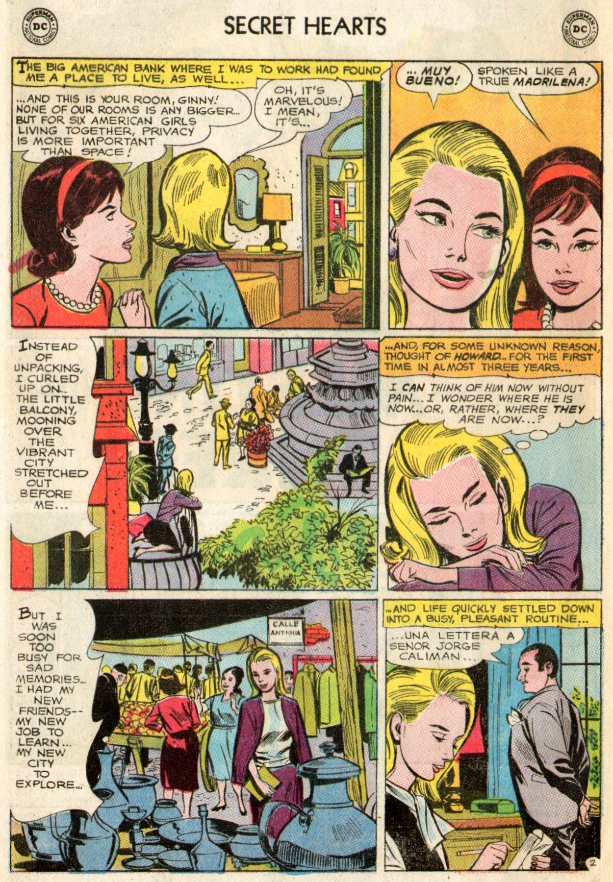 Read online Secret Hearts comic -  Issue #103 - 4
