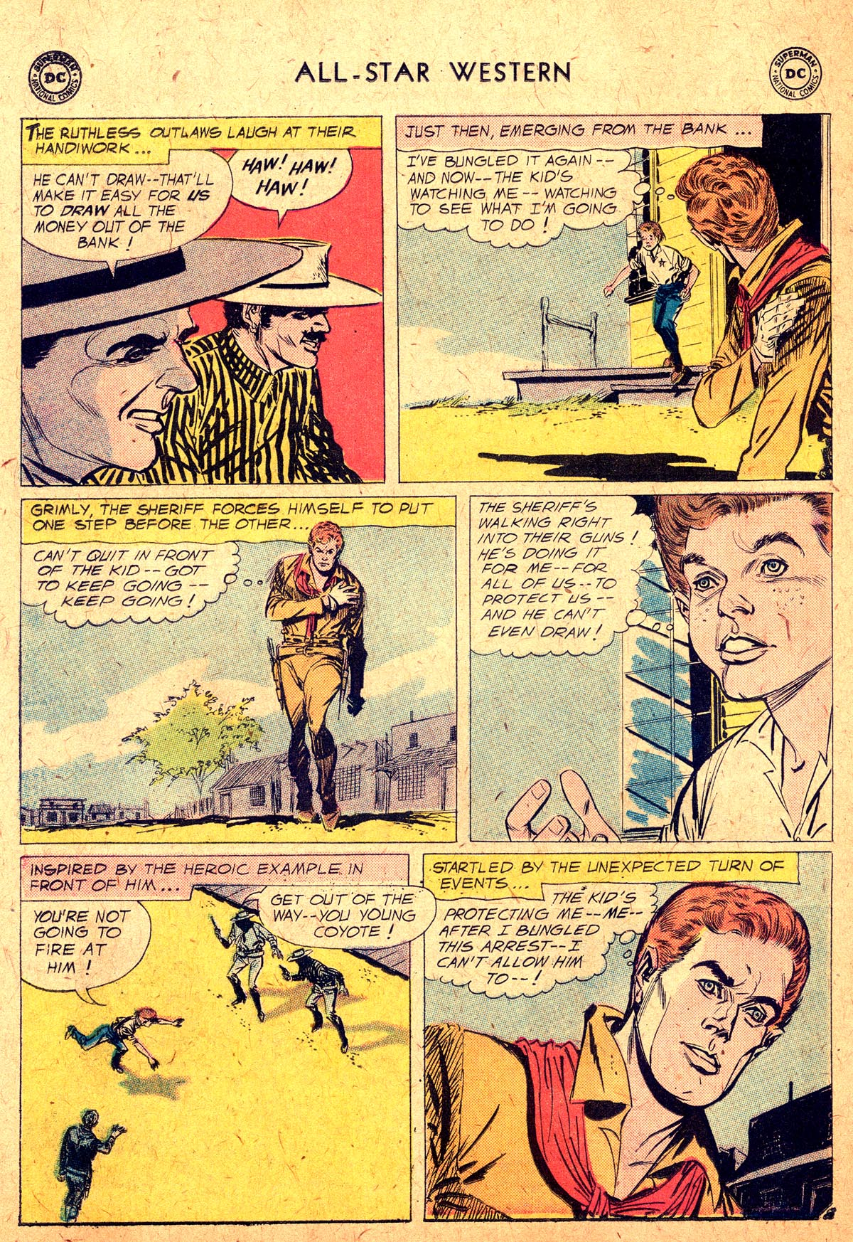 Read online All-Star Western (1951) comic -  Issue #104 - 10