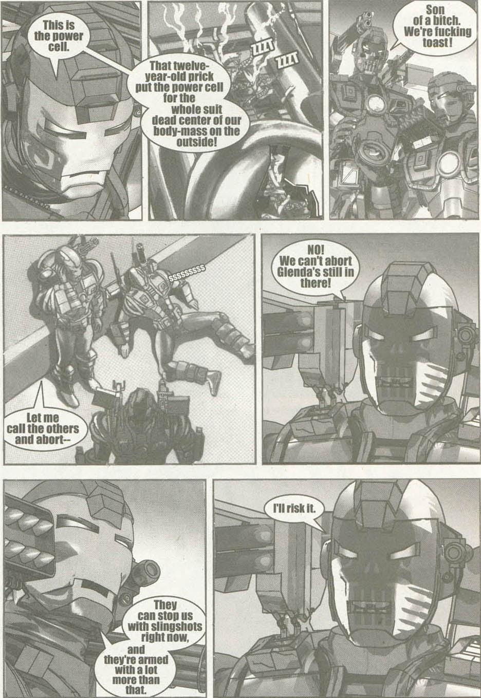 Read online U.S. War Machine comic -  Issue #6 - 20
