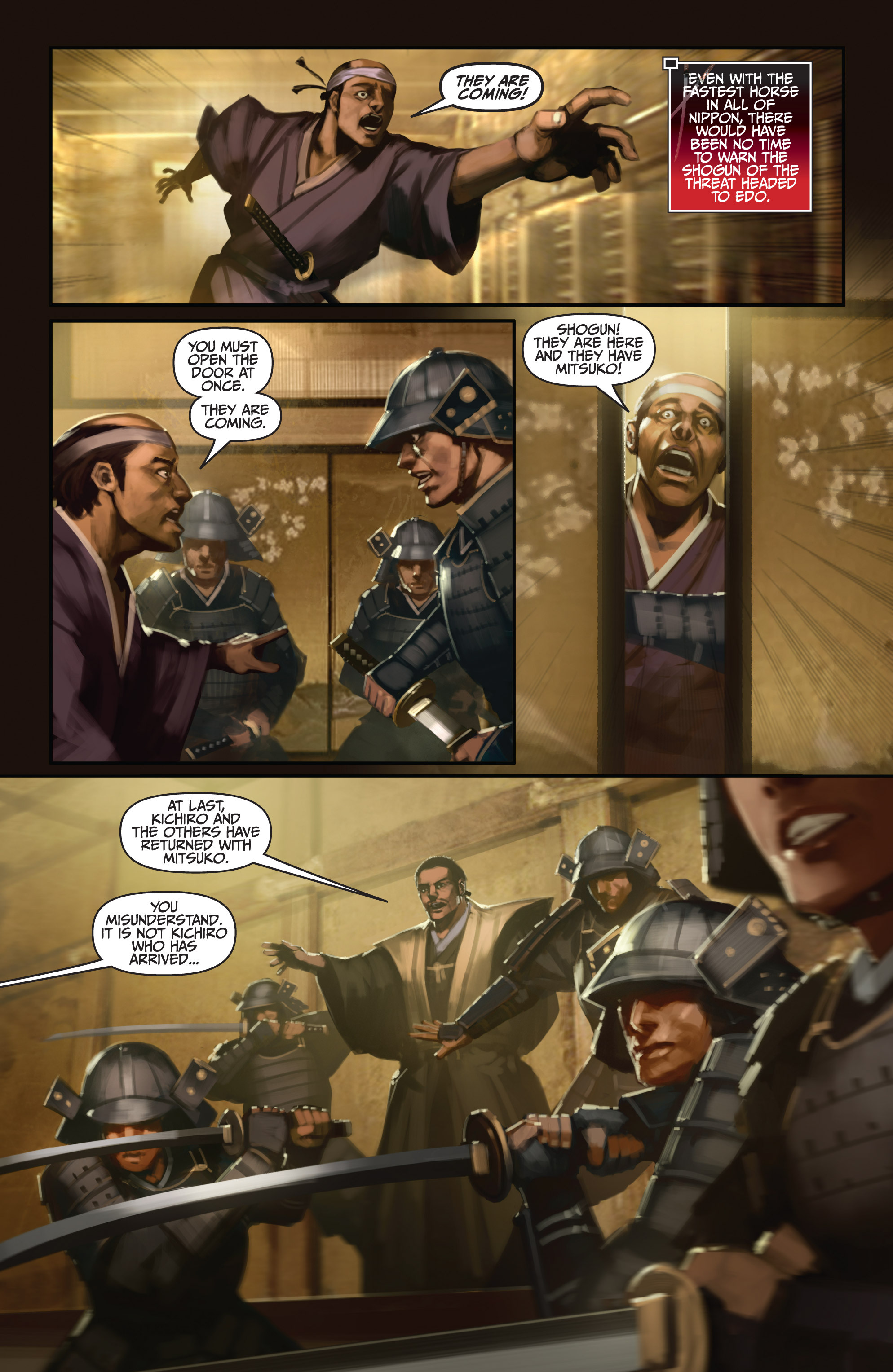 Read online Bushido: The Way of the Warrior comic -  Issue #5 - 3