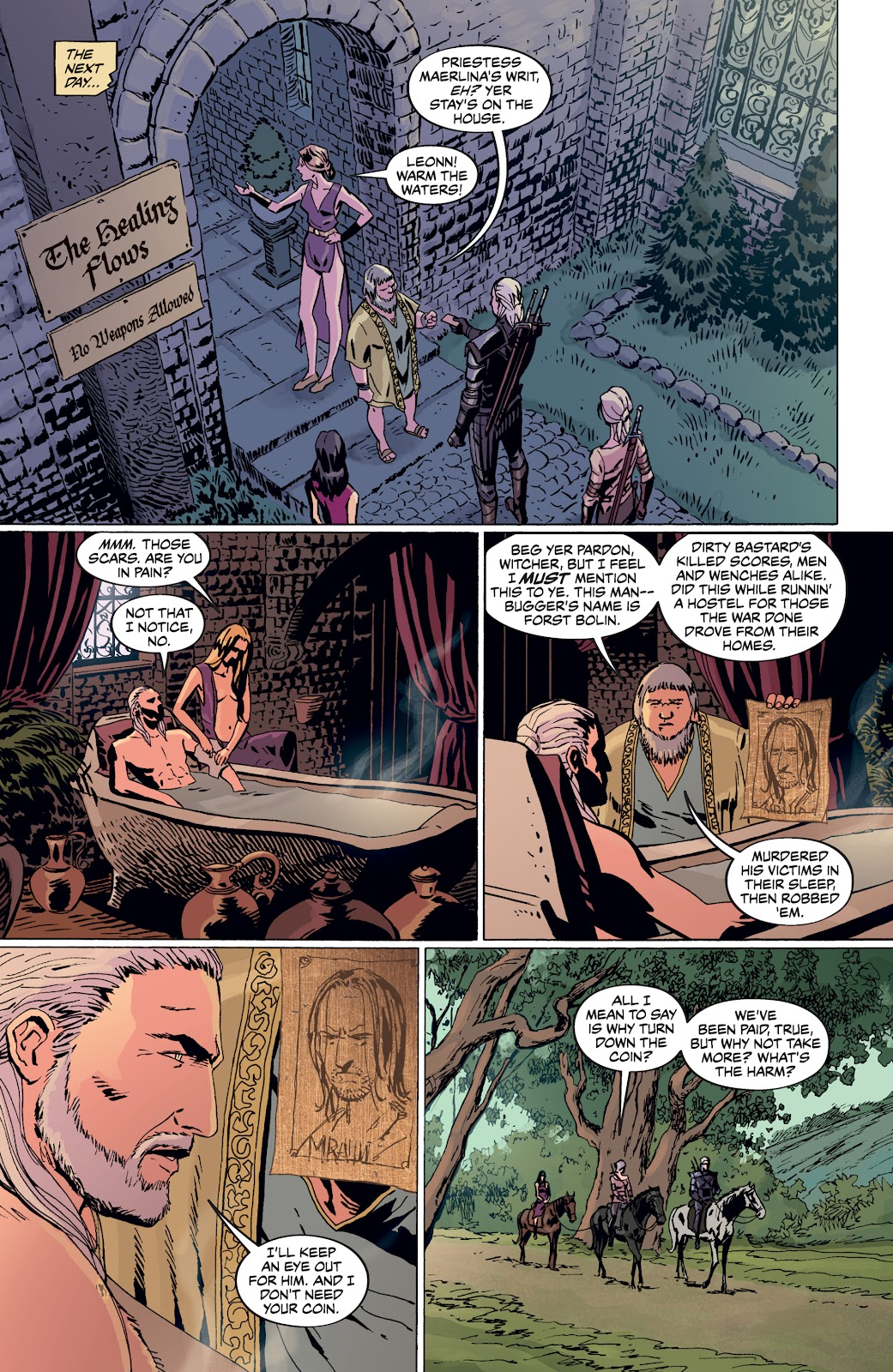 Read online The Witcher Omnibus comic -  Issue # TPB (Part 4) - 15