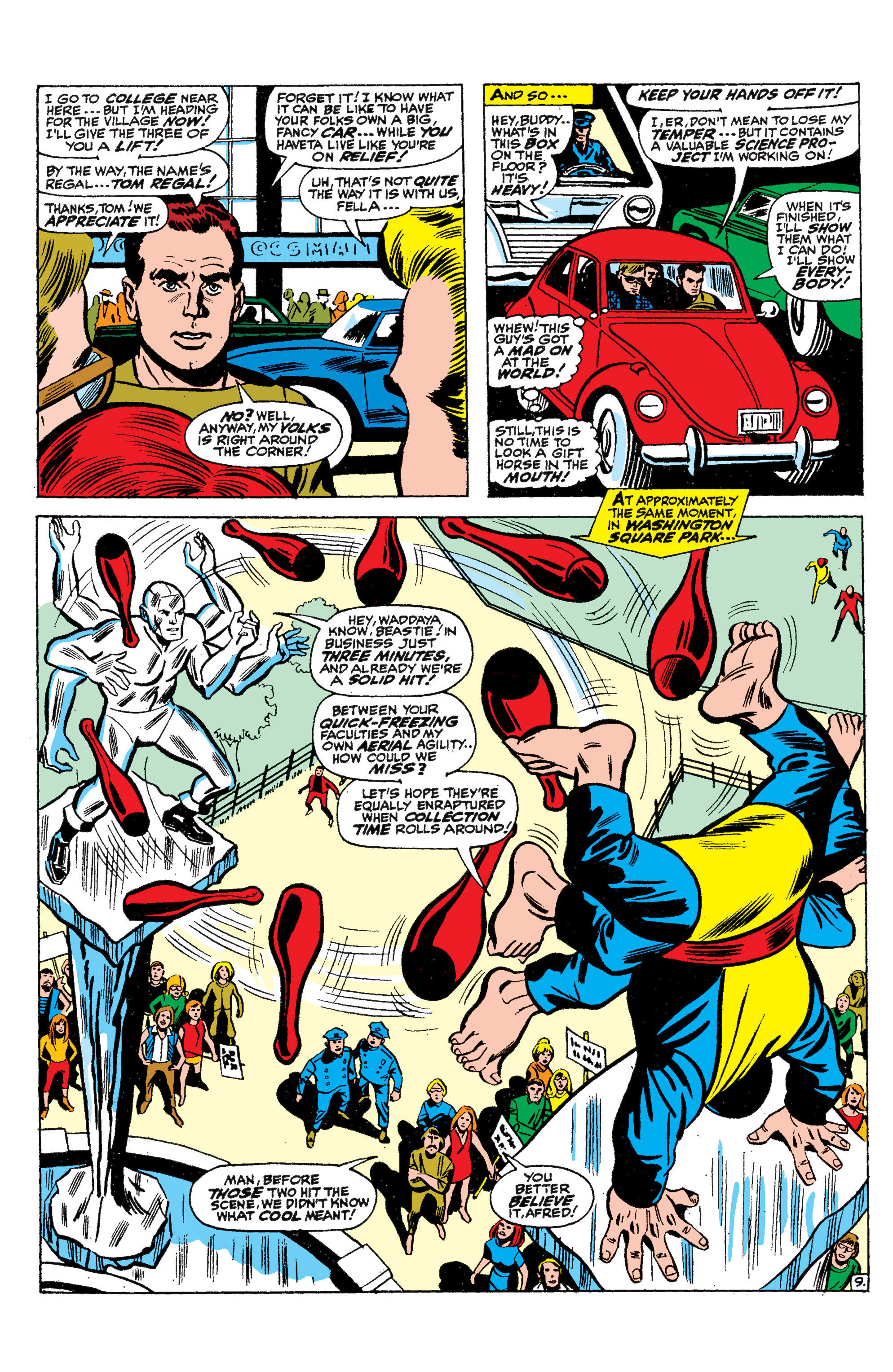 Read online Uncanny X-Men (1963) comic -  Issue #36 - 10