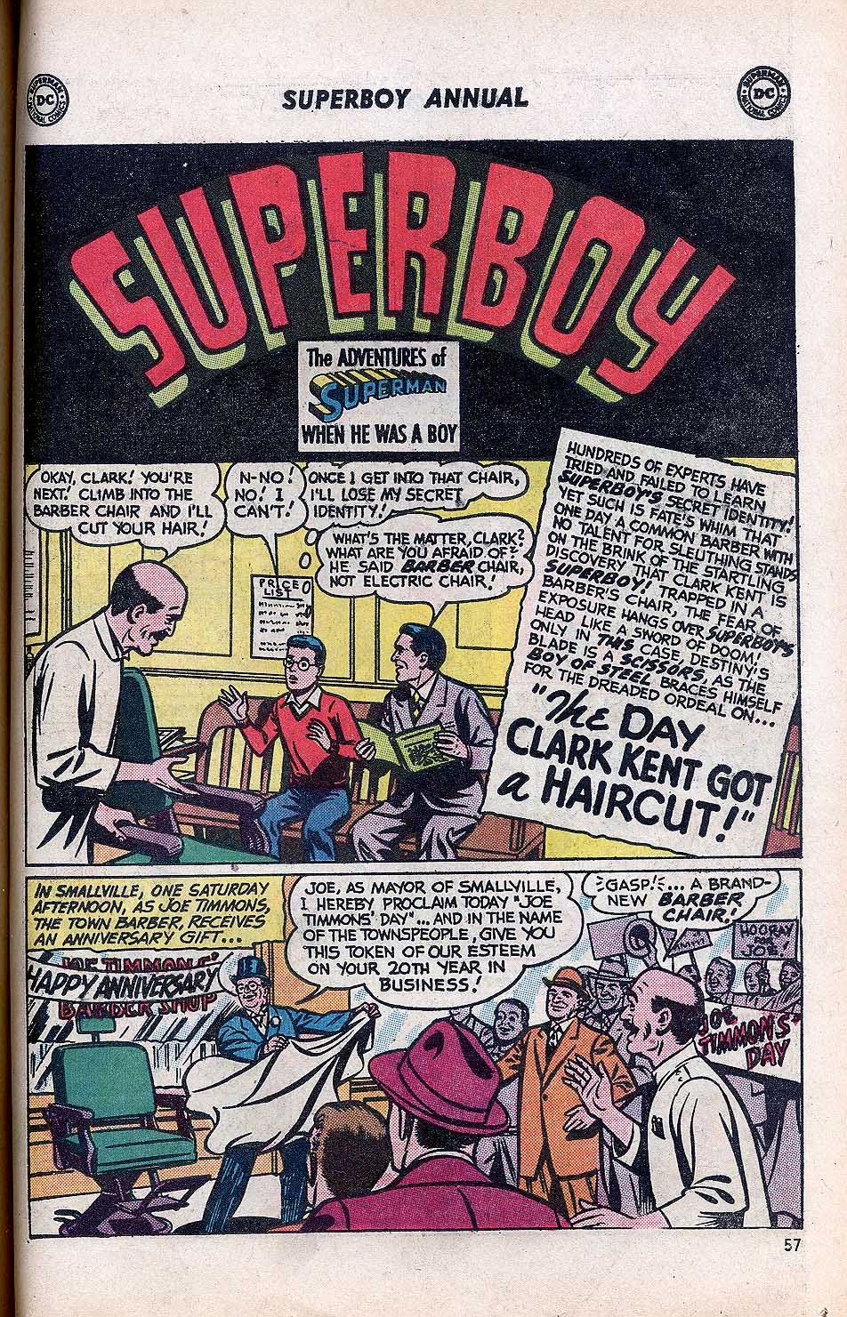 Superboy (1949) issue Annual 1 - Page 59