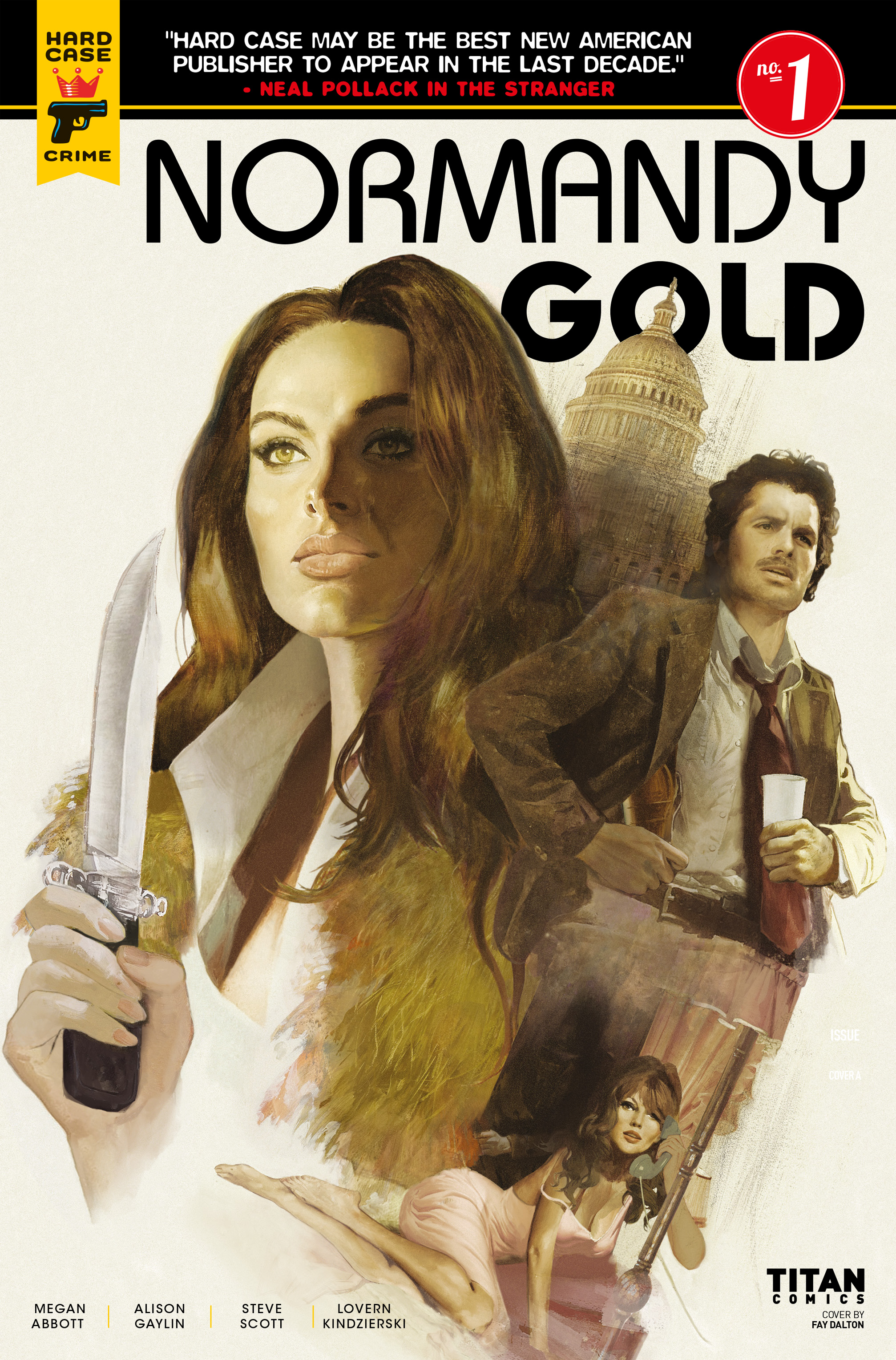 Read online Normandy Gold comic -  Issue #1 - 1