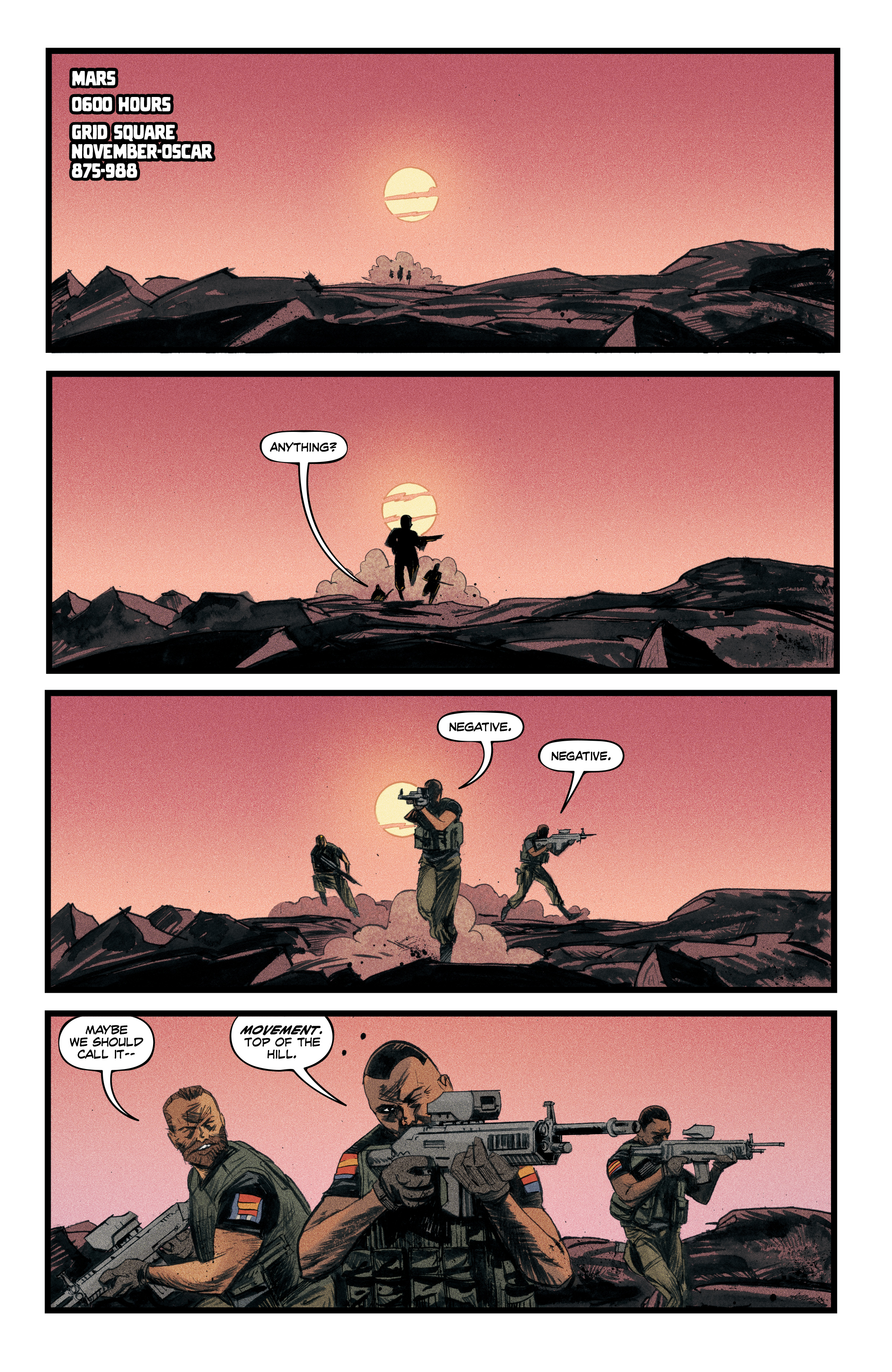 Read online Redline comic -  Issue #4 - 3