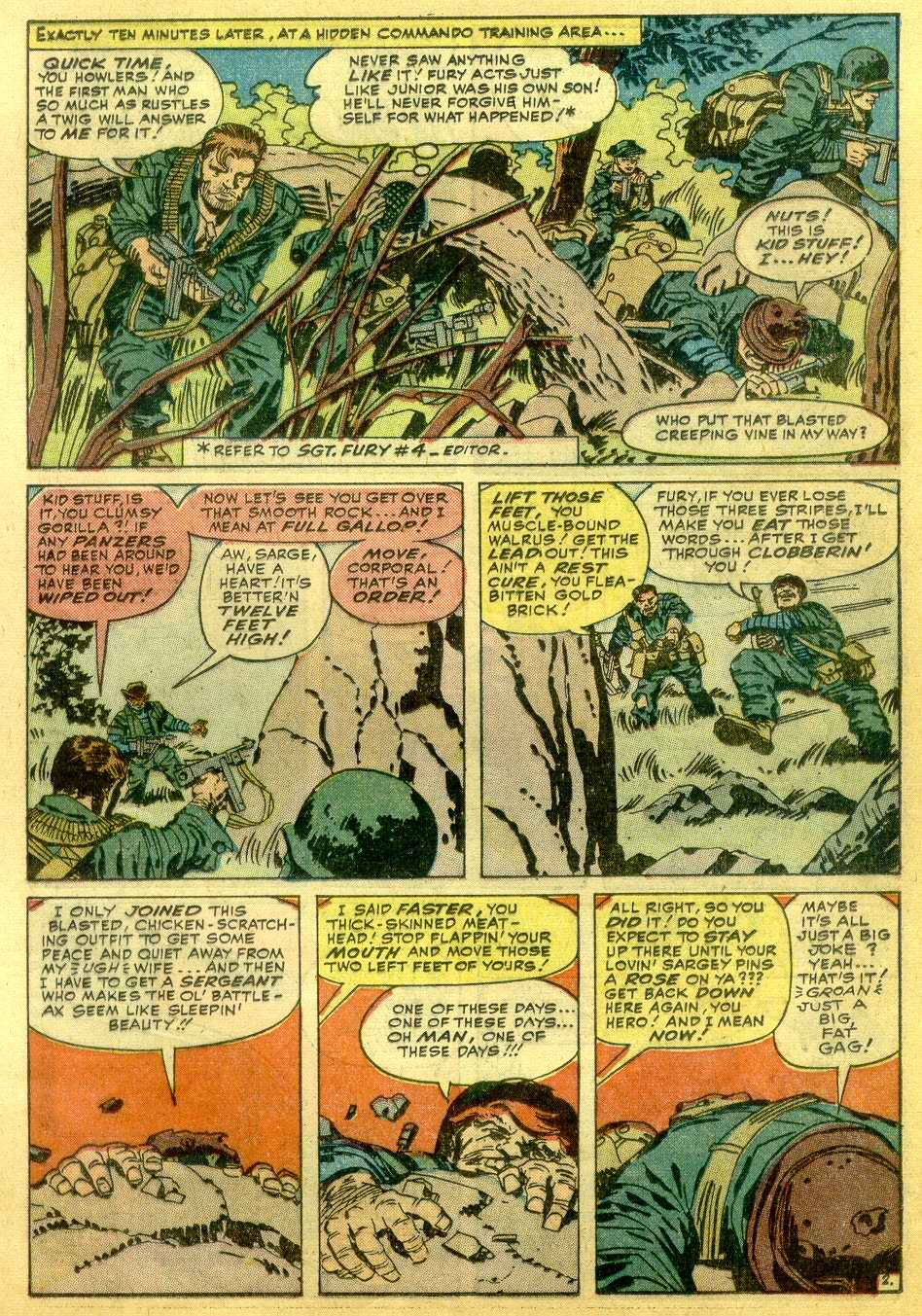 Read online Sgt. Fury comic -  Issue # _Annual 1 - 49