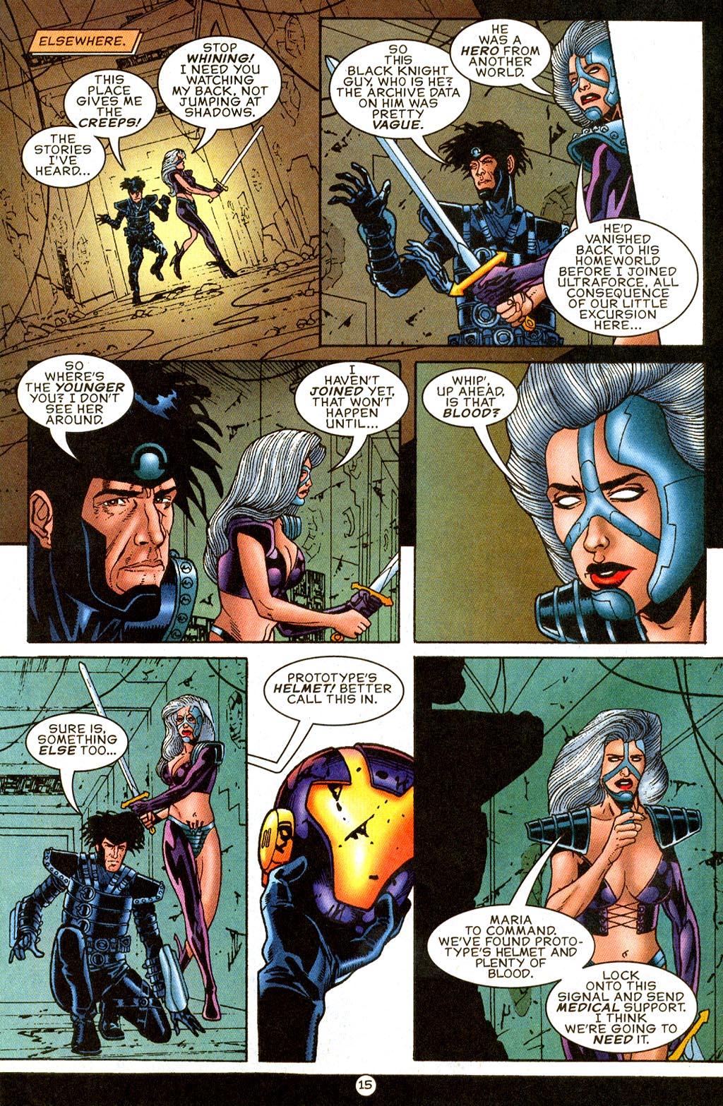 Read online UltraForce (1995) comic -  Issue #9 - 15