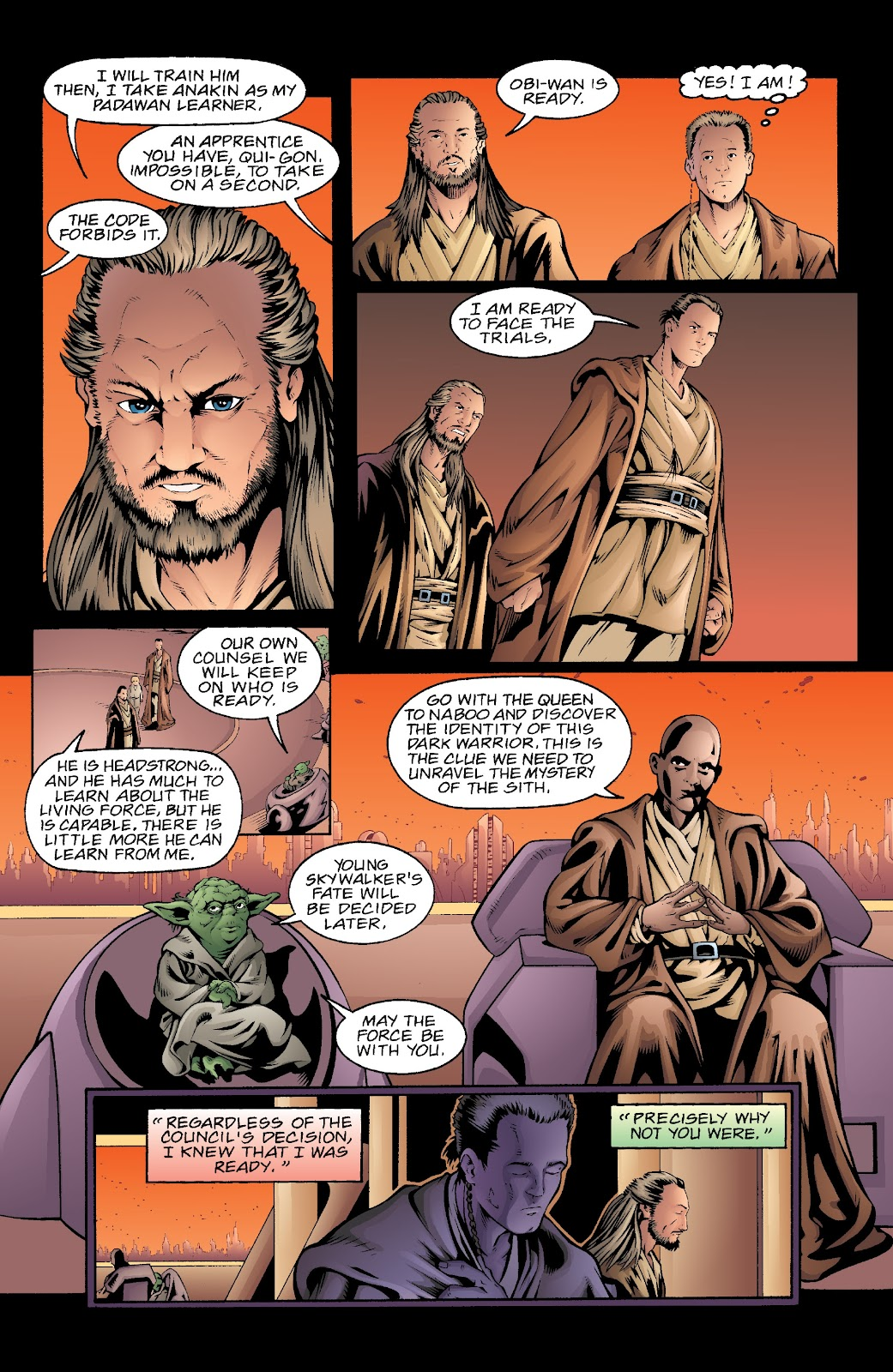 Read online Star Wars Legends: Rise of the Sith - Epic Collection comic -  Issue # TPB 2 (Part 5) - 38