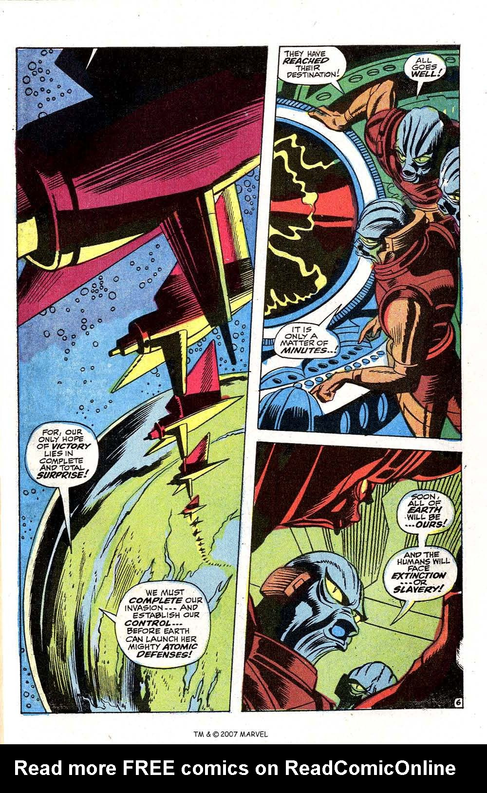 Read online Silver Surfer (1968) comic -  Issue #2 - 61