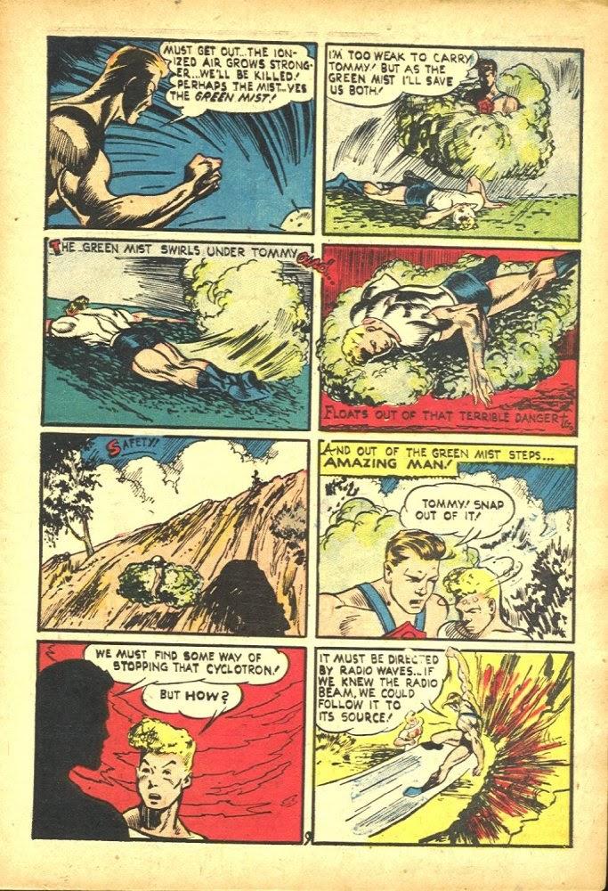 Read online Amazing Man Comics comic -  Issue #25 - 11