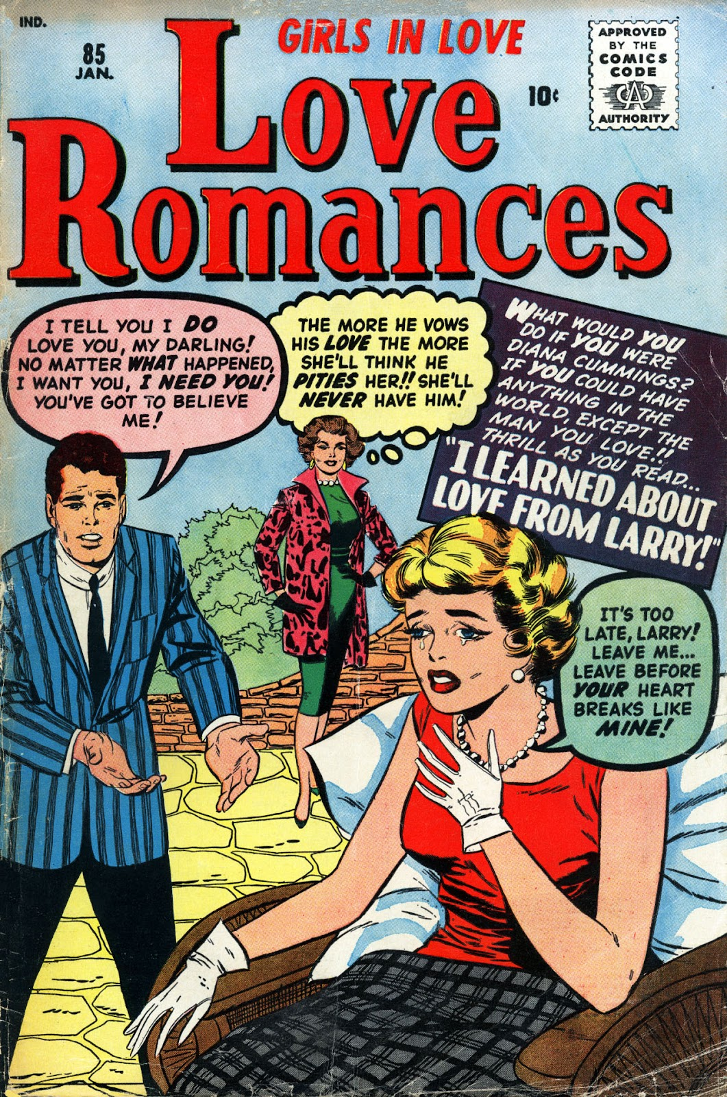 Love Romances (1949) issue 85 - Page 1