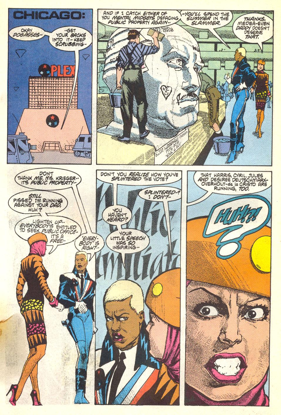 Read online American Flagg! comic -  Issue #17 - 12