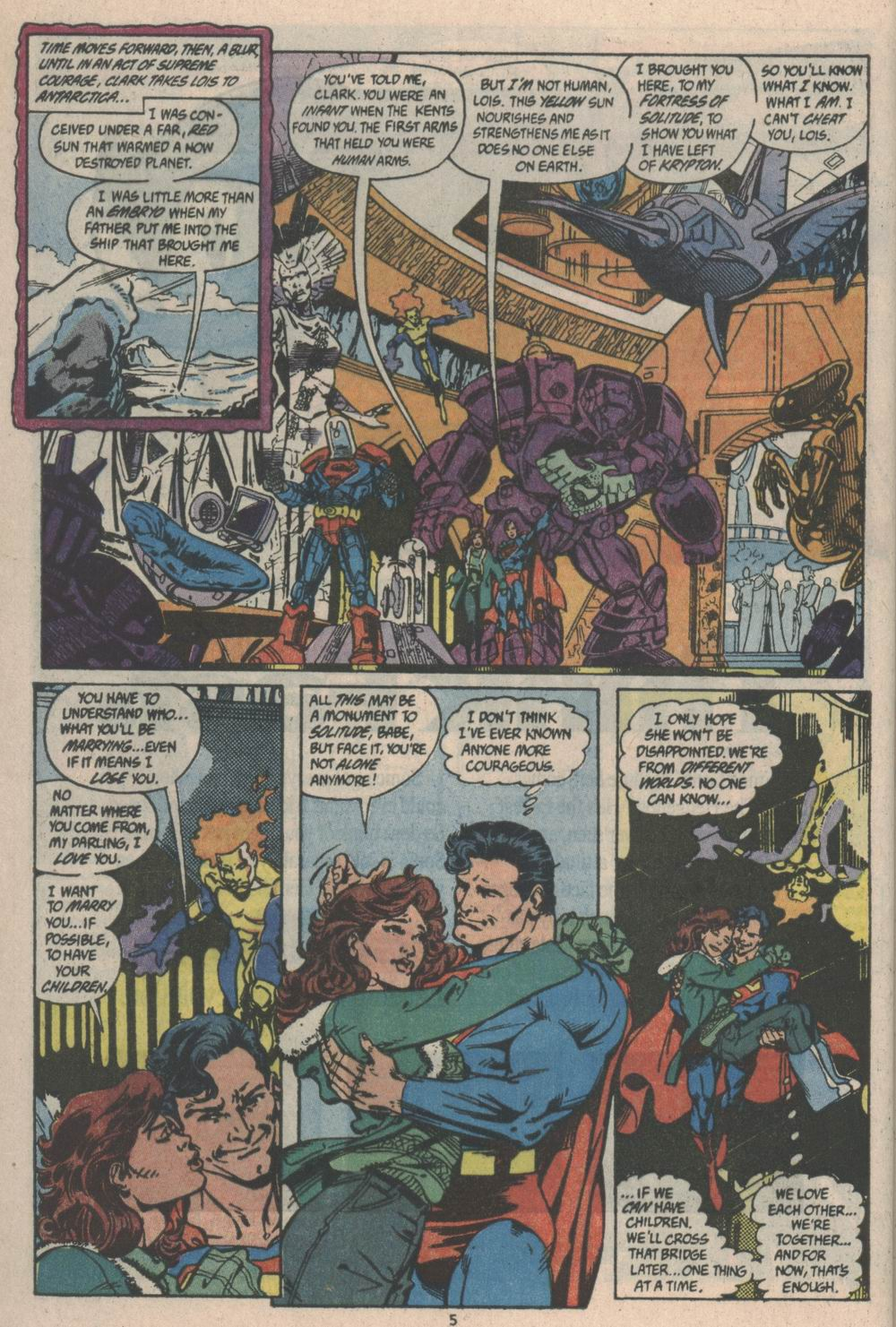 Read online Adventures of Superman (1987) comic -  Issue #Adventures of Superman (1987) _Annual 3 - 5
