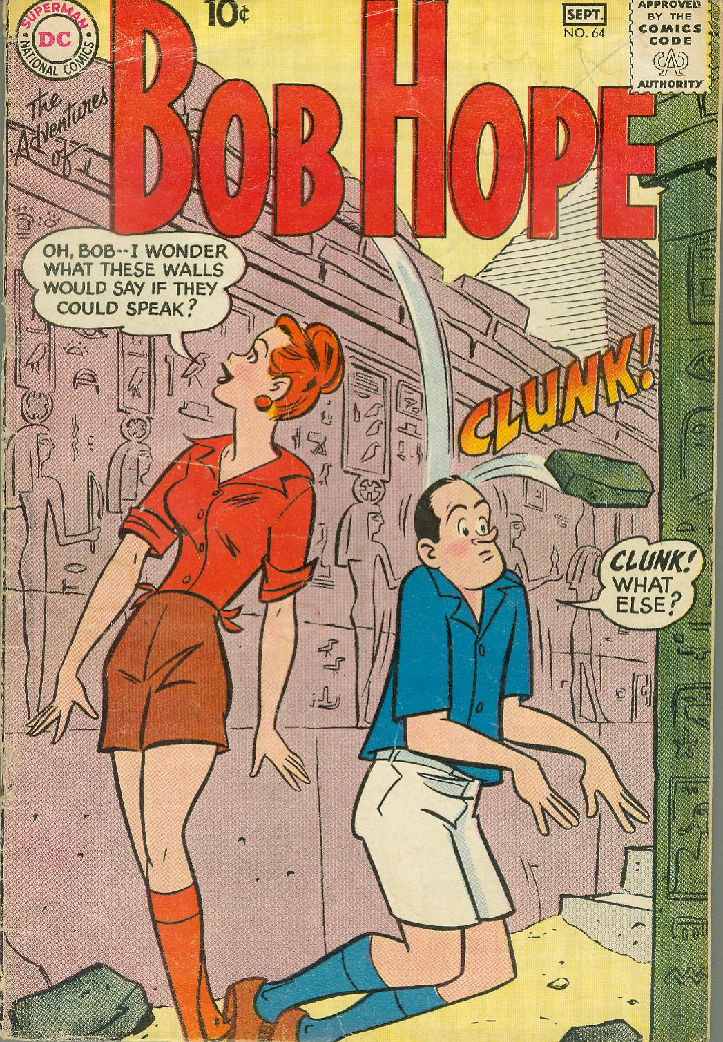 The Adventures of Bob Hope issue 64 - Page 2