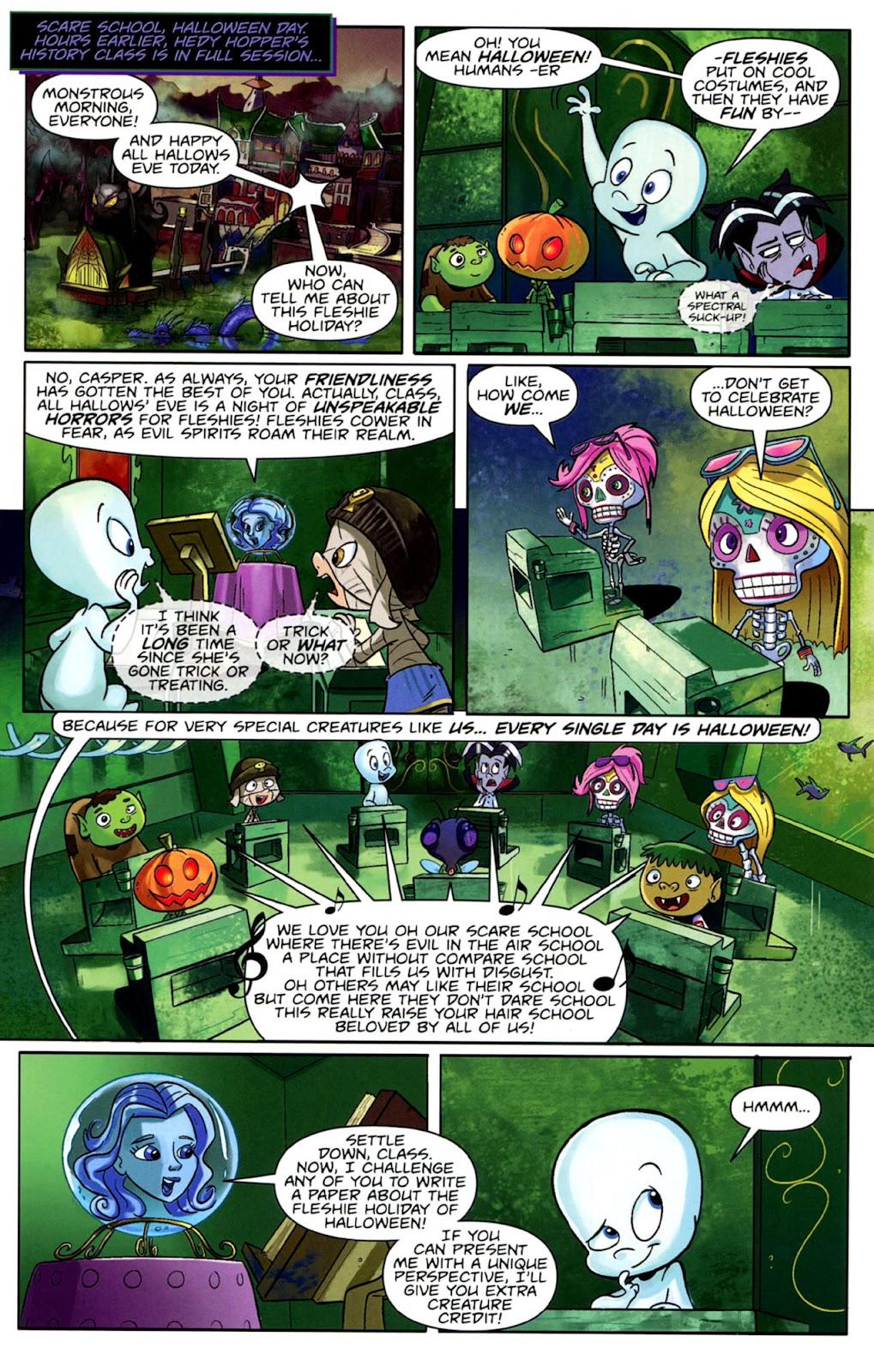 Read online Casper's Scare School comic -  Issue #1 - 4