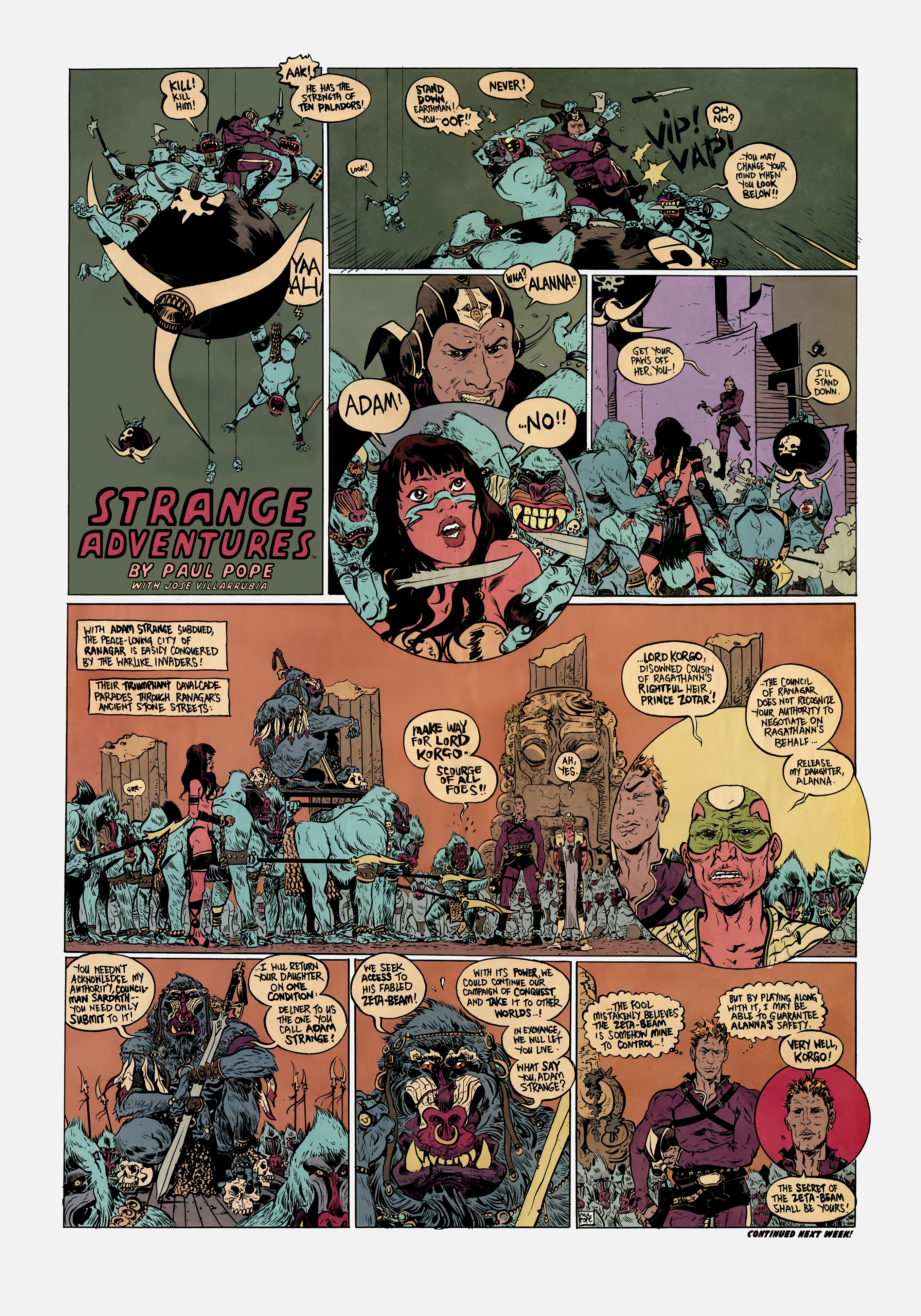 Read online Wednesday Comics comic -  Issue #2 - 9