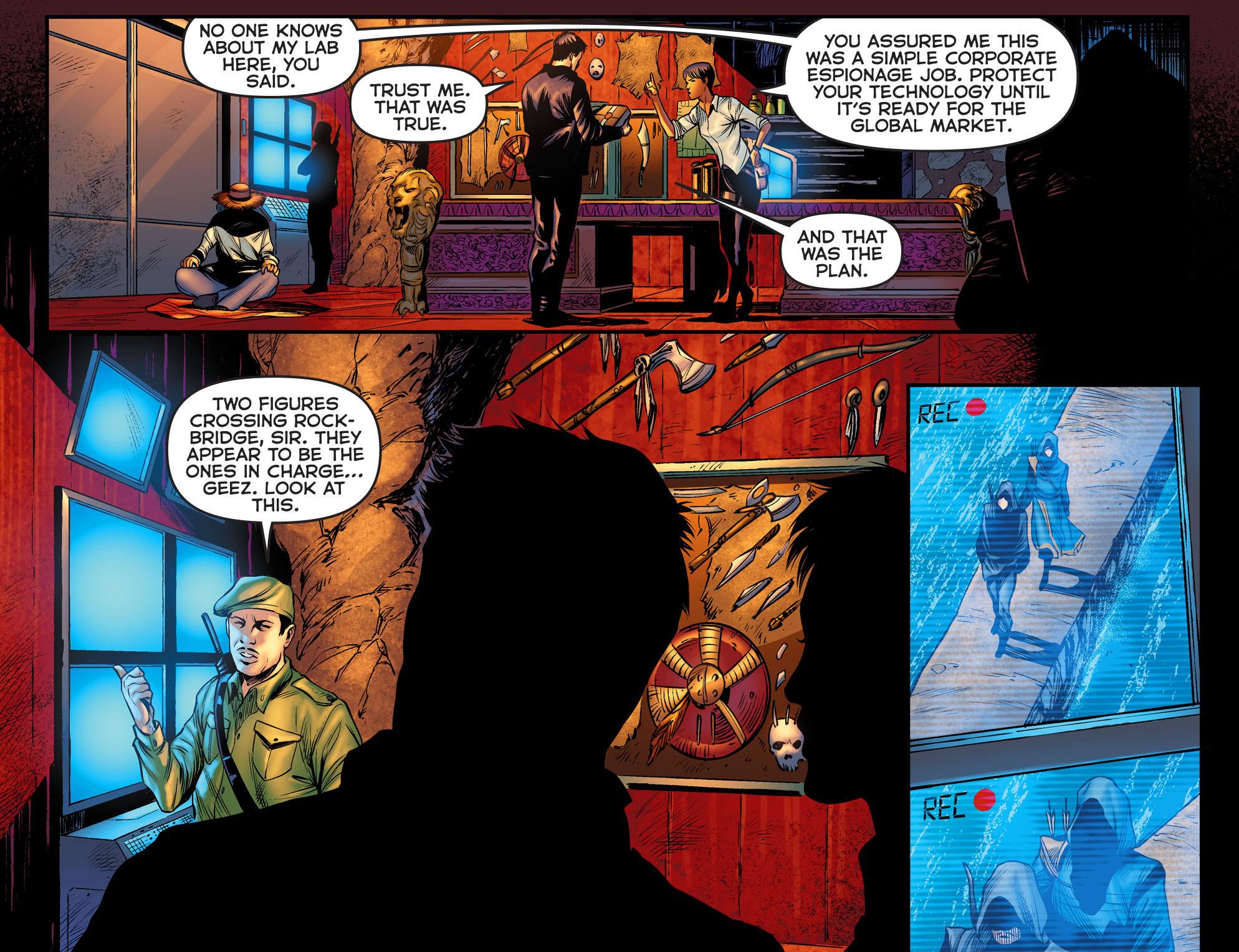 Read online Arrow: The Dark Archer comic -  Issue #2 - 10