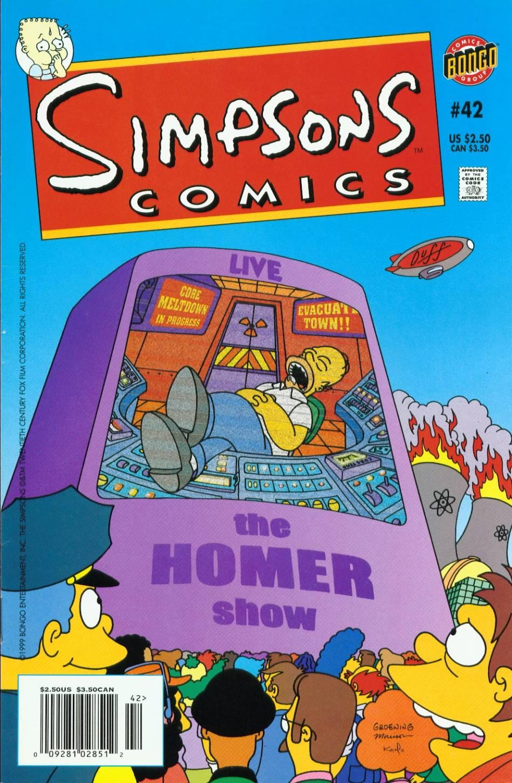Read online Simpsons Comics comic -  Issue #42 - 1