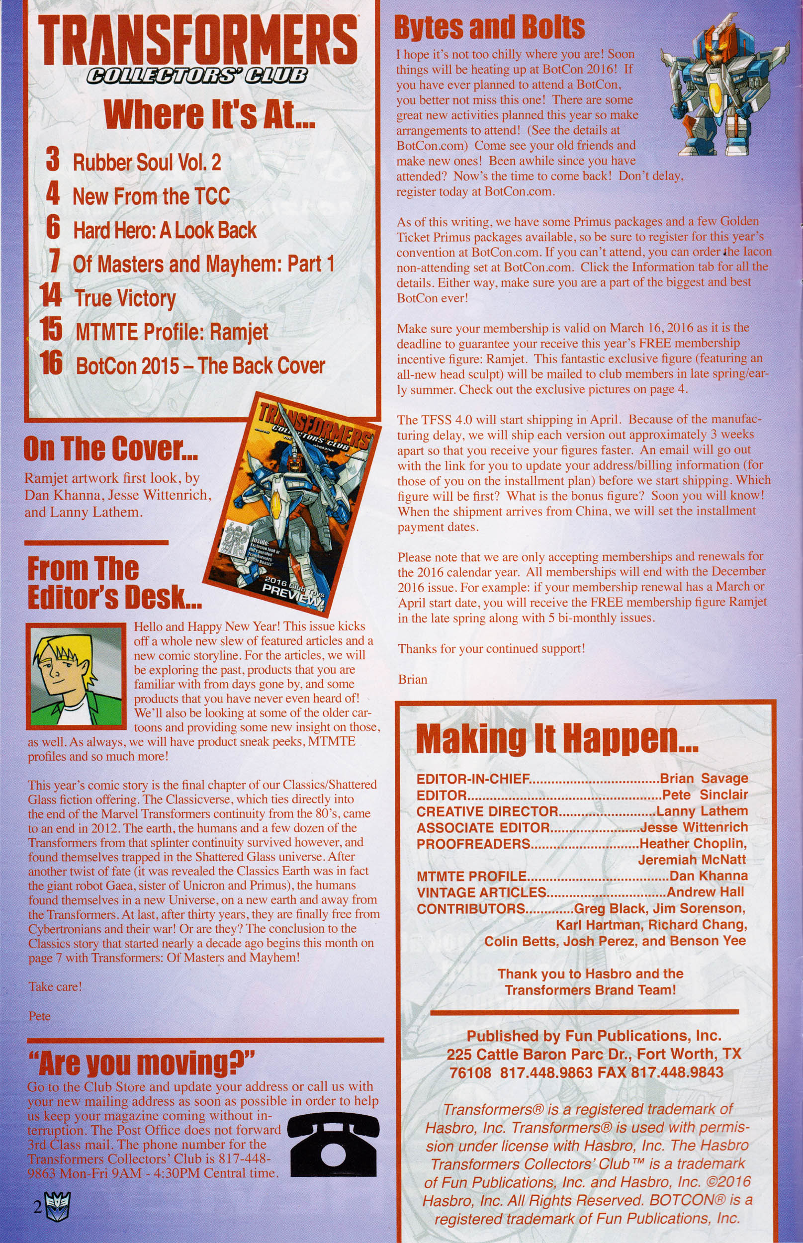 Read online Transformers: Collectors' Club comic -  Issue #67 - 2