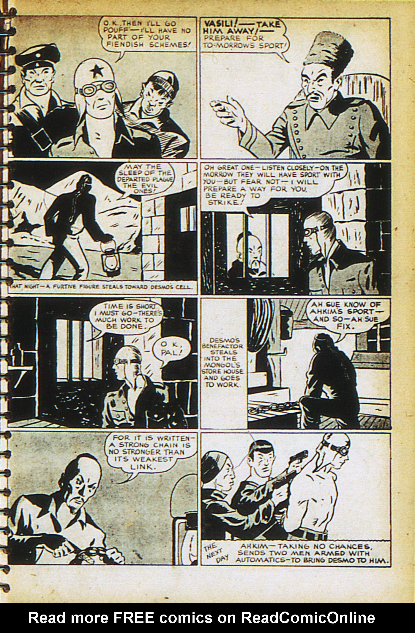 Read online Adventure Comics (1938) comic -  Issue #27 - 29
