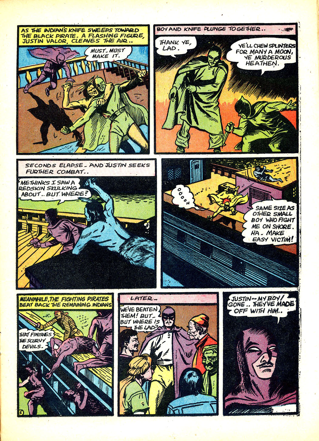 Read online Sensation (Mystery) Comics comic -  Issue #12 - 21