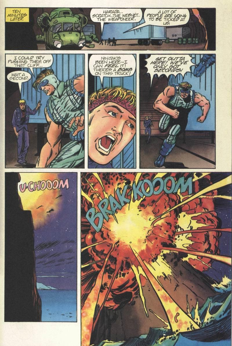 Read online Secret Weapons comic -  Issue #5 - 21