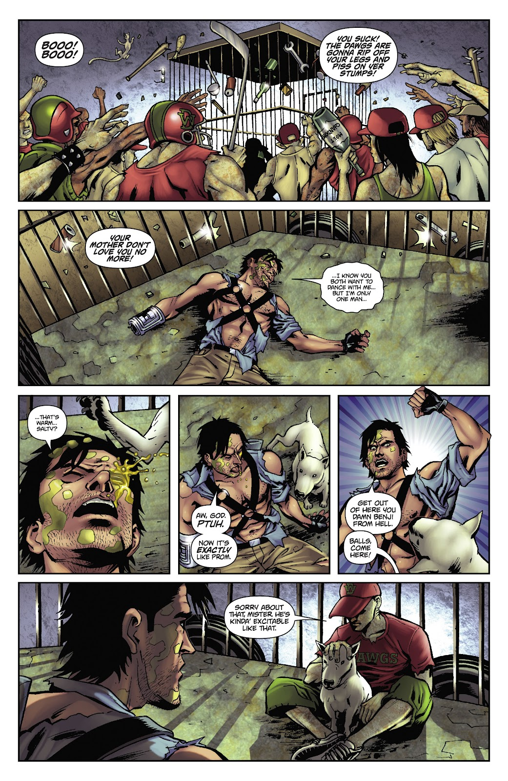 Army of Darkness: The Long Road Home issue TPB - Page 44
