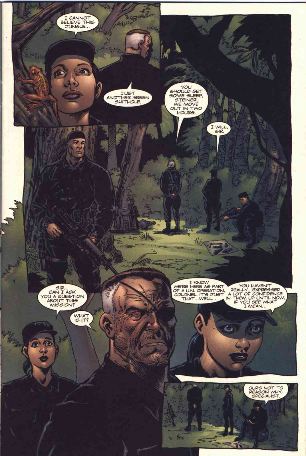 Read online Fury comic -  Issue #4 - 4