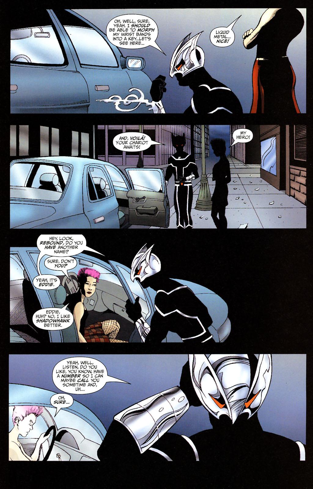 Read online ShadowHawk (2005) comic -  Issue #14 - 7