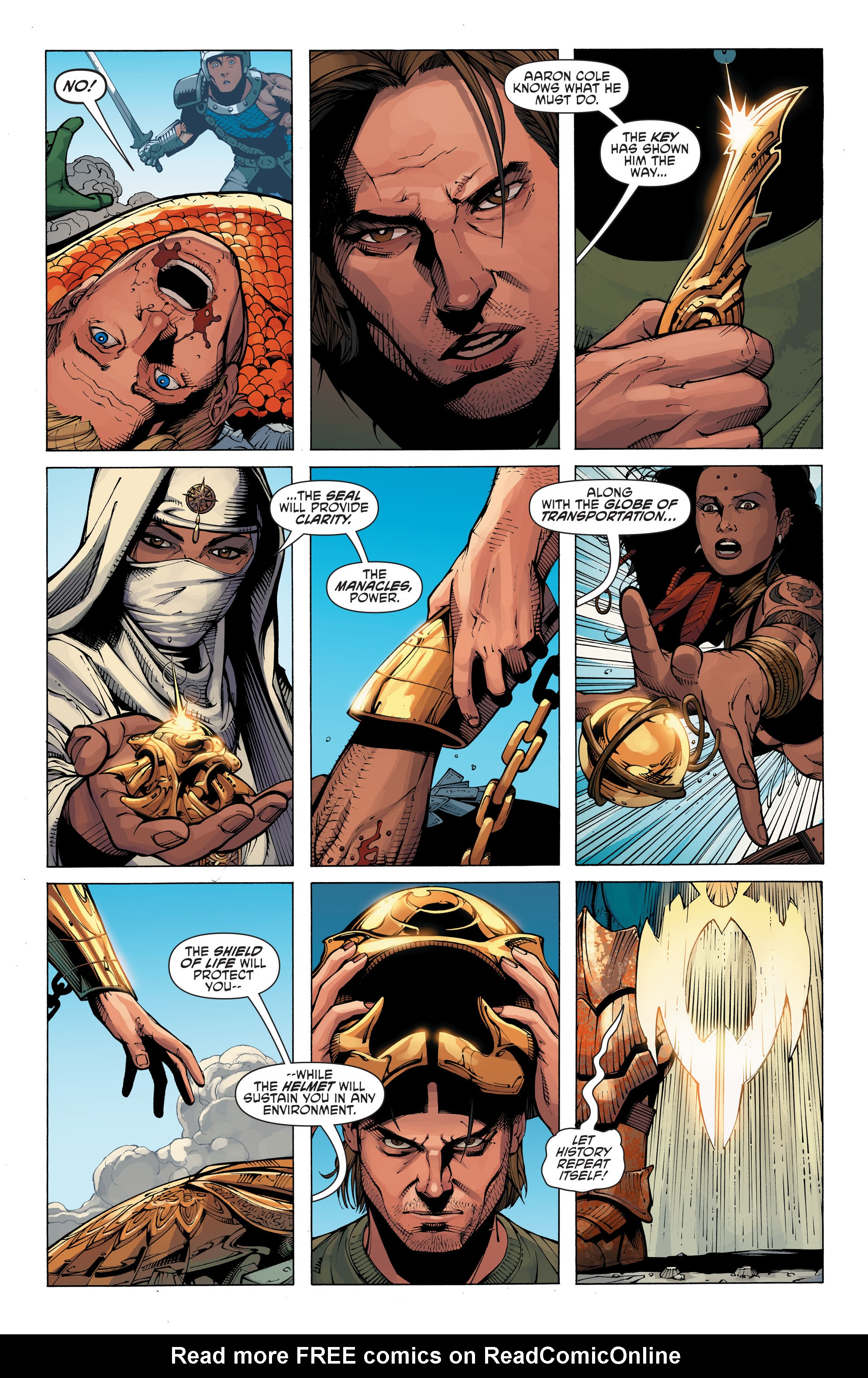 Read online Aquaman and the Others: Futures End comic -  Issue #Aquaman and the Others: Futures End Full - 18